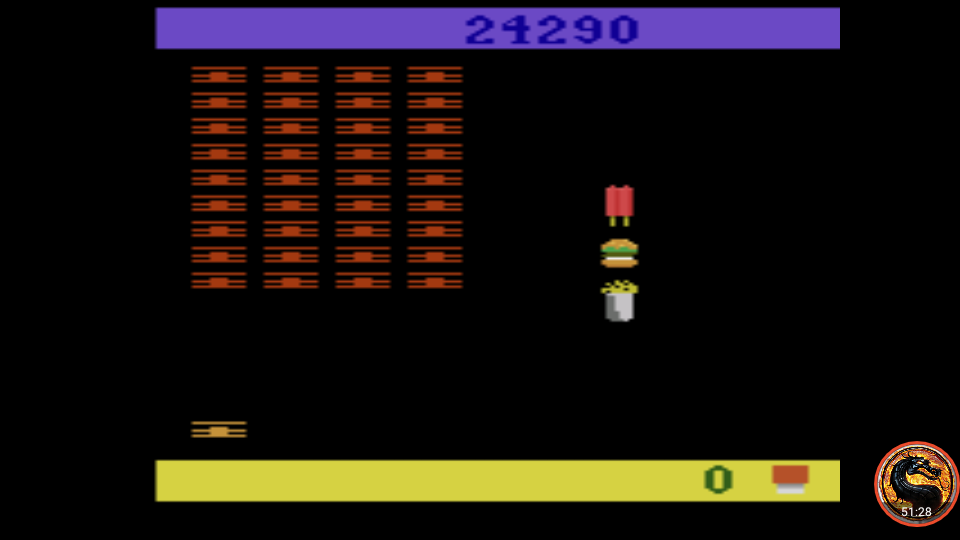 omargeddon: Snoopy and the Red Baron (Atari 2600 Emulated Expert/A Mode) 24,290 points on 2019-12-26 22:52:42