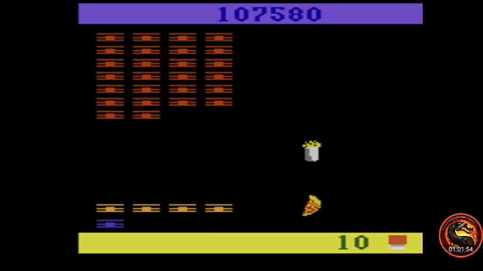 omargeddon: Snoopy and the Red Baron (Atari 2600 Emulated Novice/B Mode) 107,580 points on 2020-09-18 12:26:08