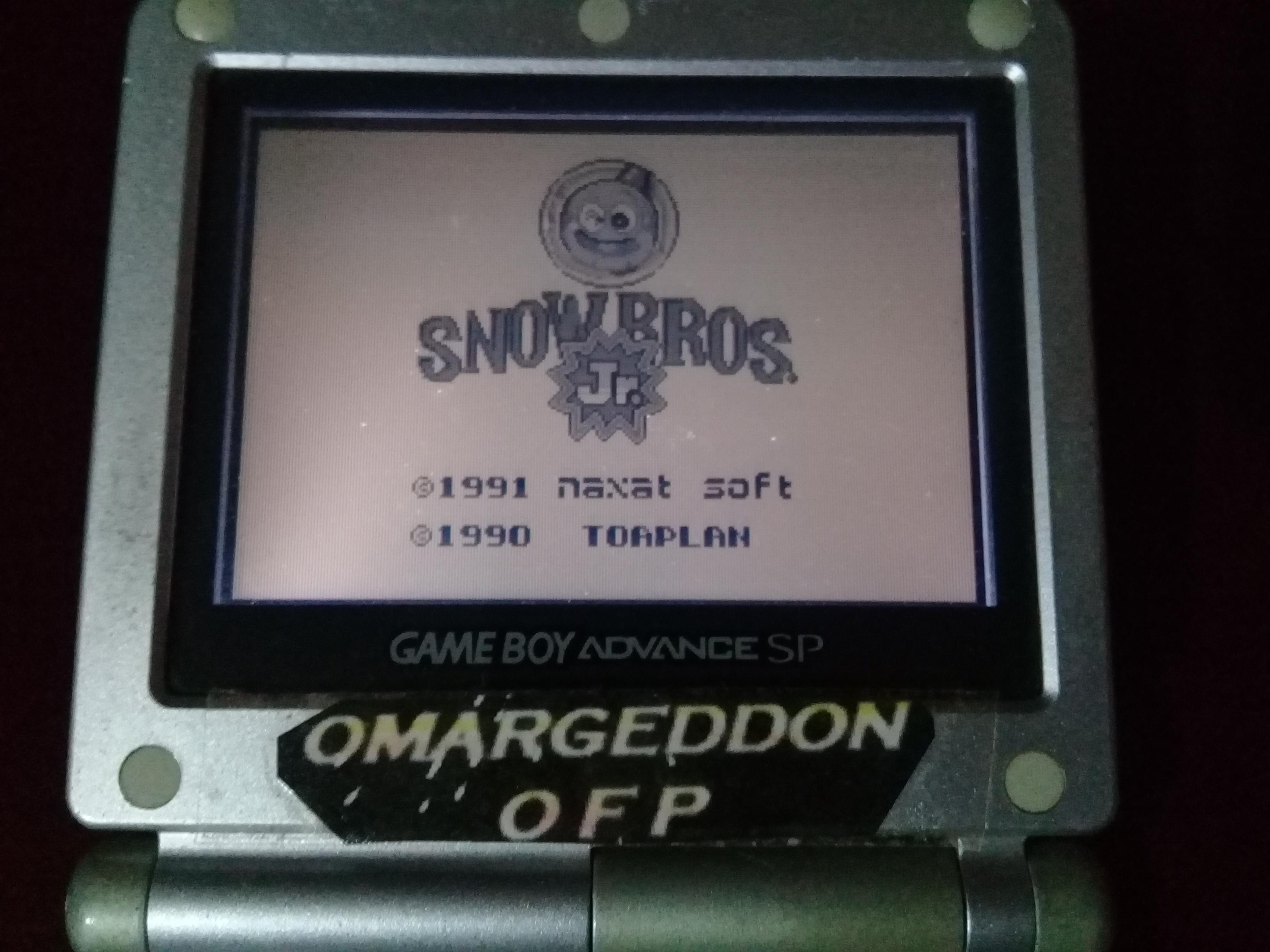 omargeddon: Snow Bros. Jr. (Game Boy) 6,330 points on 2019-08-25 14:09:19