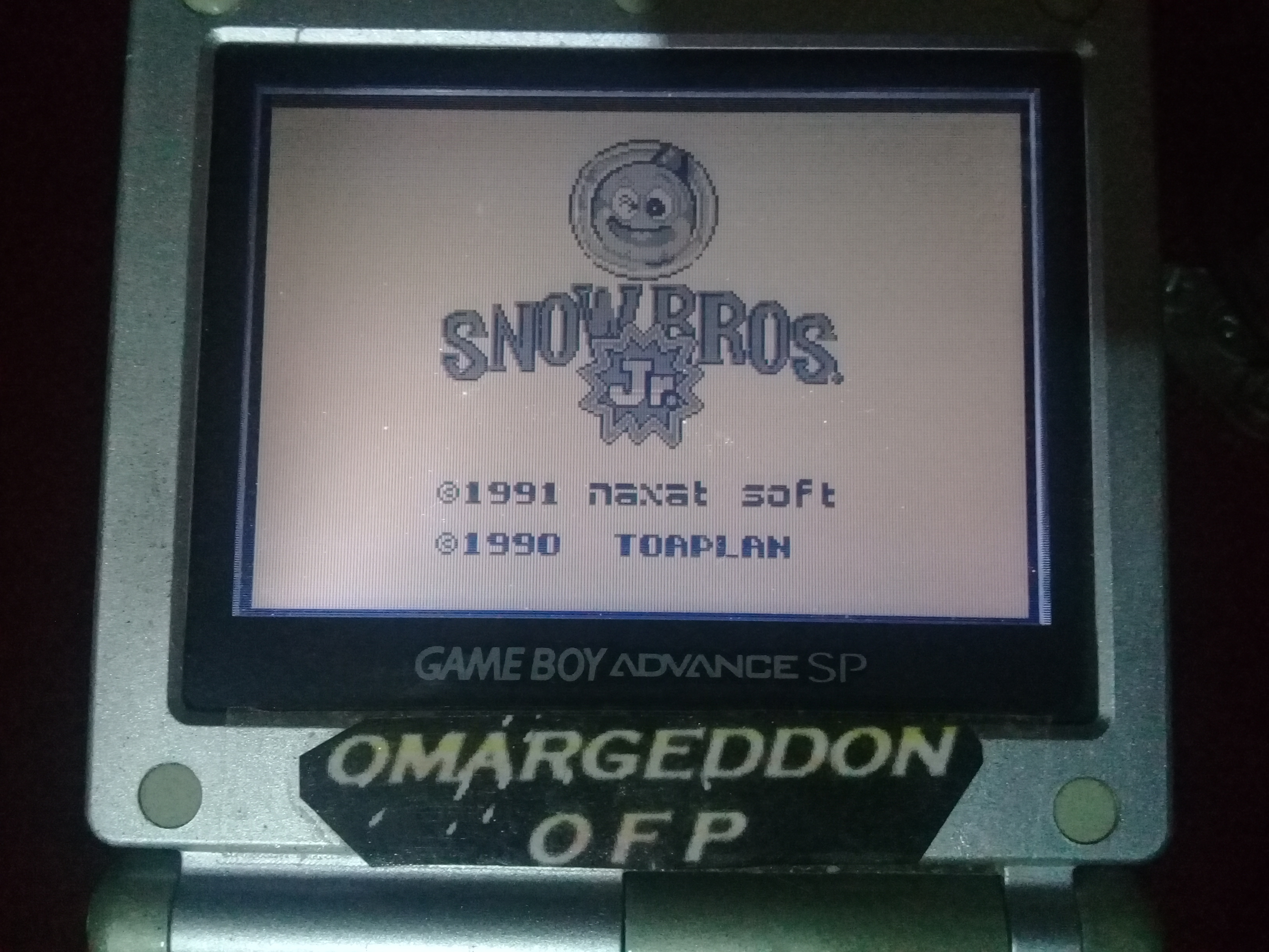 omargeddon: Snow Bros. Jr. (Game Boy) 49,930 points on 2019-11-03 14:54:43