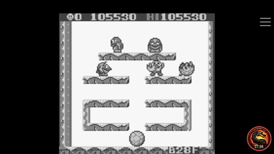 omargeddon: Snow Bros. Jr. (Game Boy Emulated) 105,530 points on 2020-05-05 22:13:54
