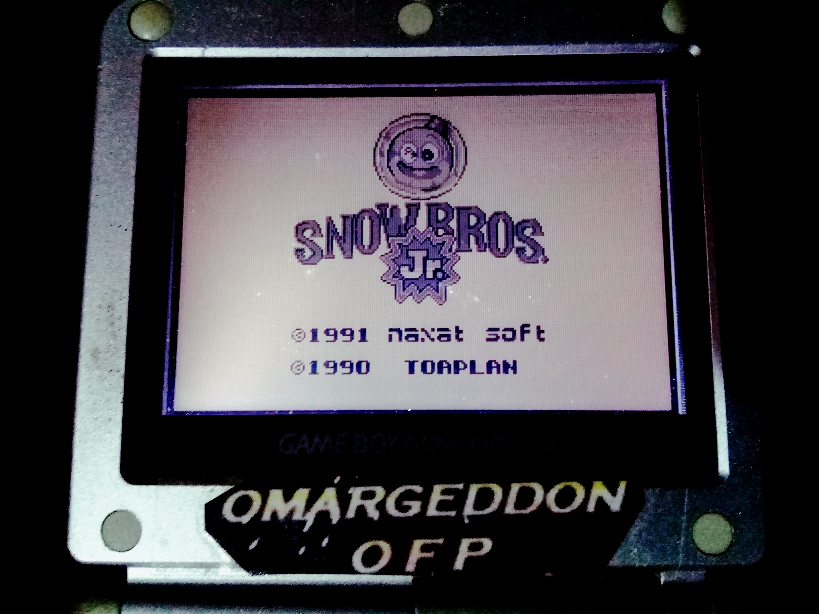 omargeddon: Snow Bros. Jr. (Game Boy) 79,360 points on 2020-08-24 17:05:17