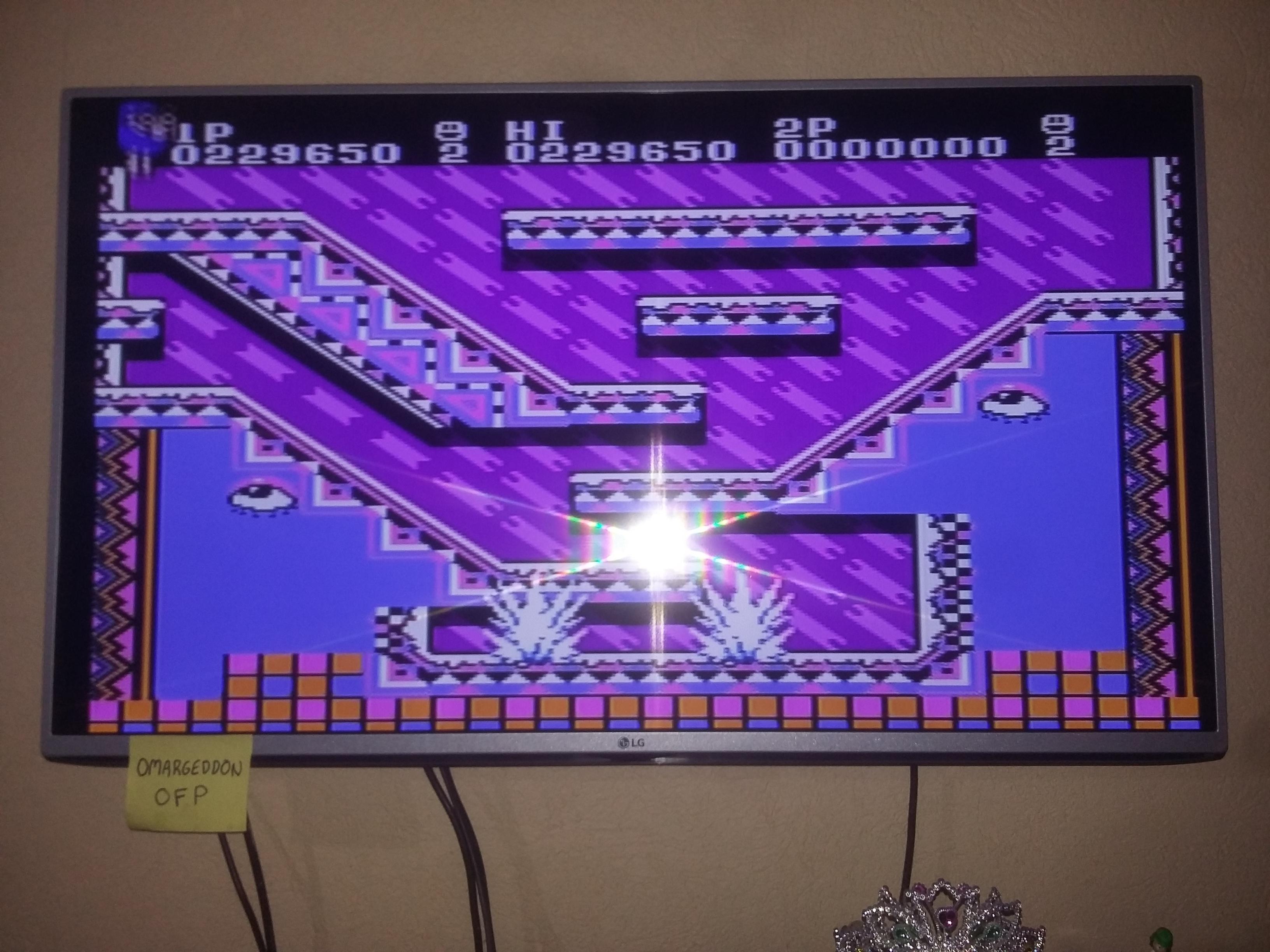 omargeddon: Snow Bros. (NES/Famicom) 229,650 points on 2017-01-07 11:36:55