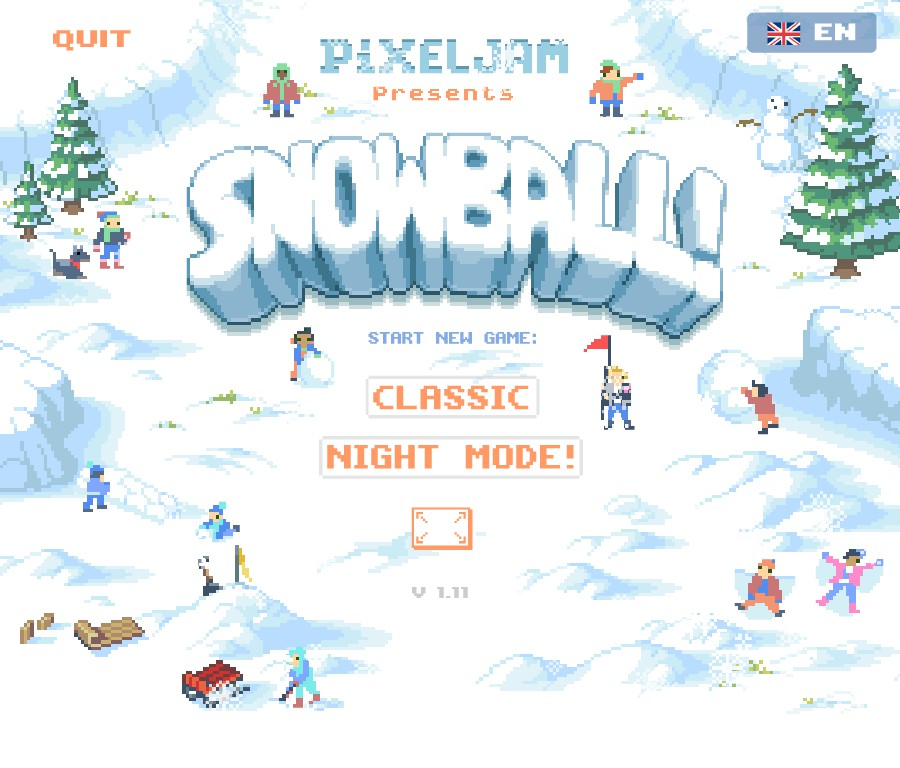 Mark: Snowball! [Classic] (PC) 72,614 points on 2018-12-24 02:26:08
