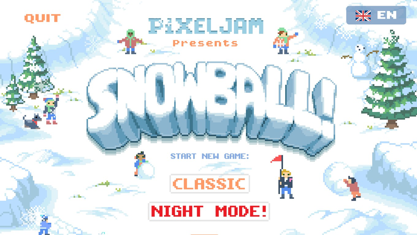 Mark: Snowball! [Night Mode] (PC) 90,418 points on 2020-06-19 01:58:44