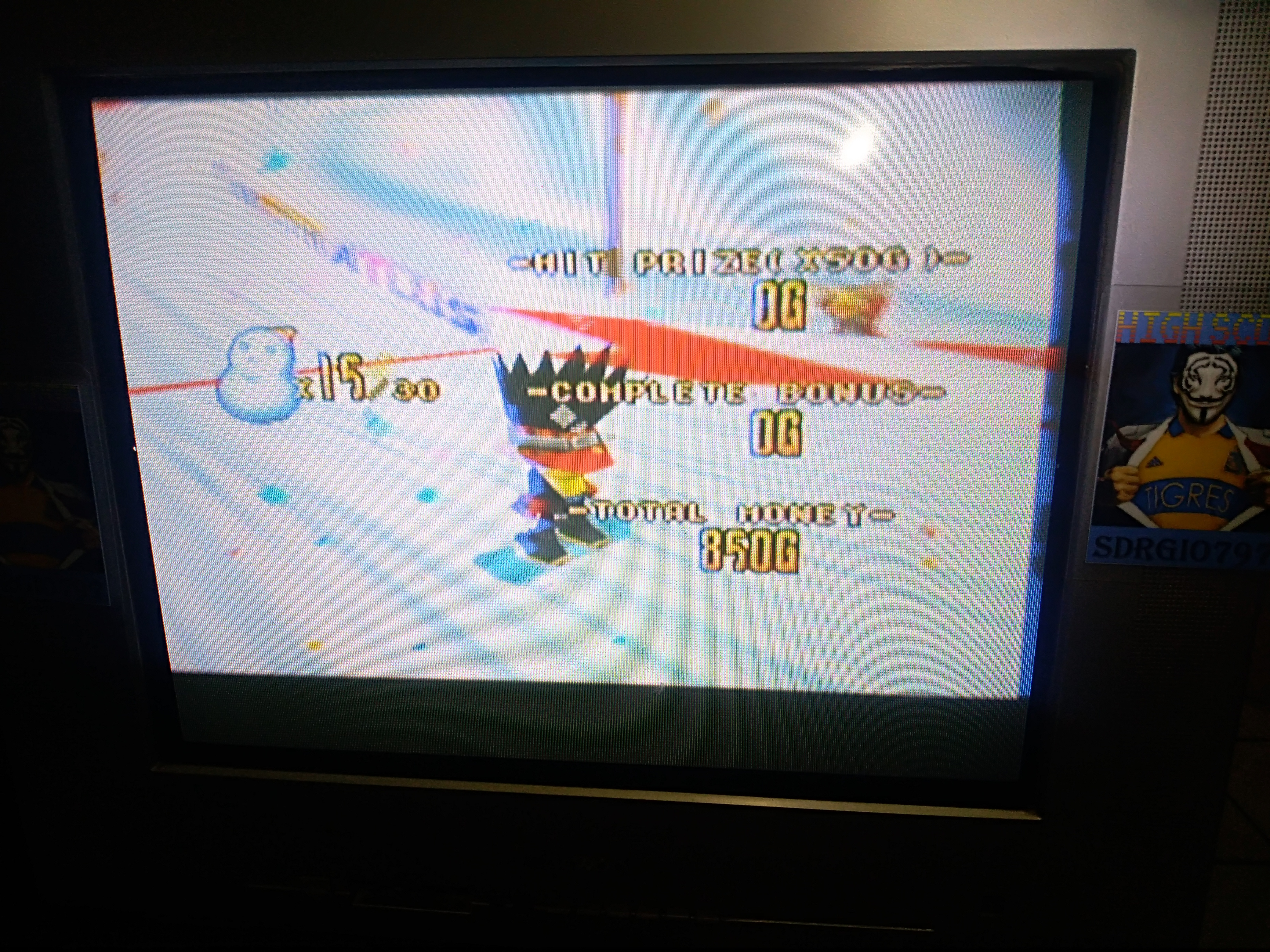 Sdrgio797: Snowboard Kids: Shot Game [Rookie MT.] (N64 Emulated) 15 points on 2020-08-09 00:44:38