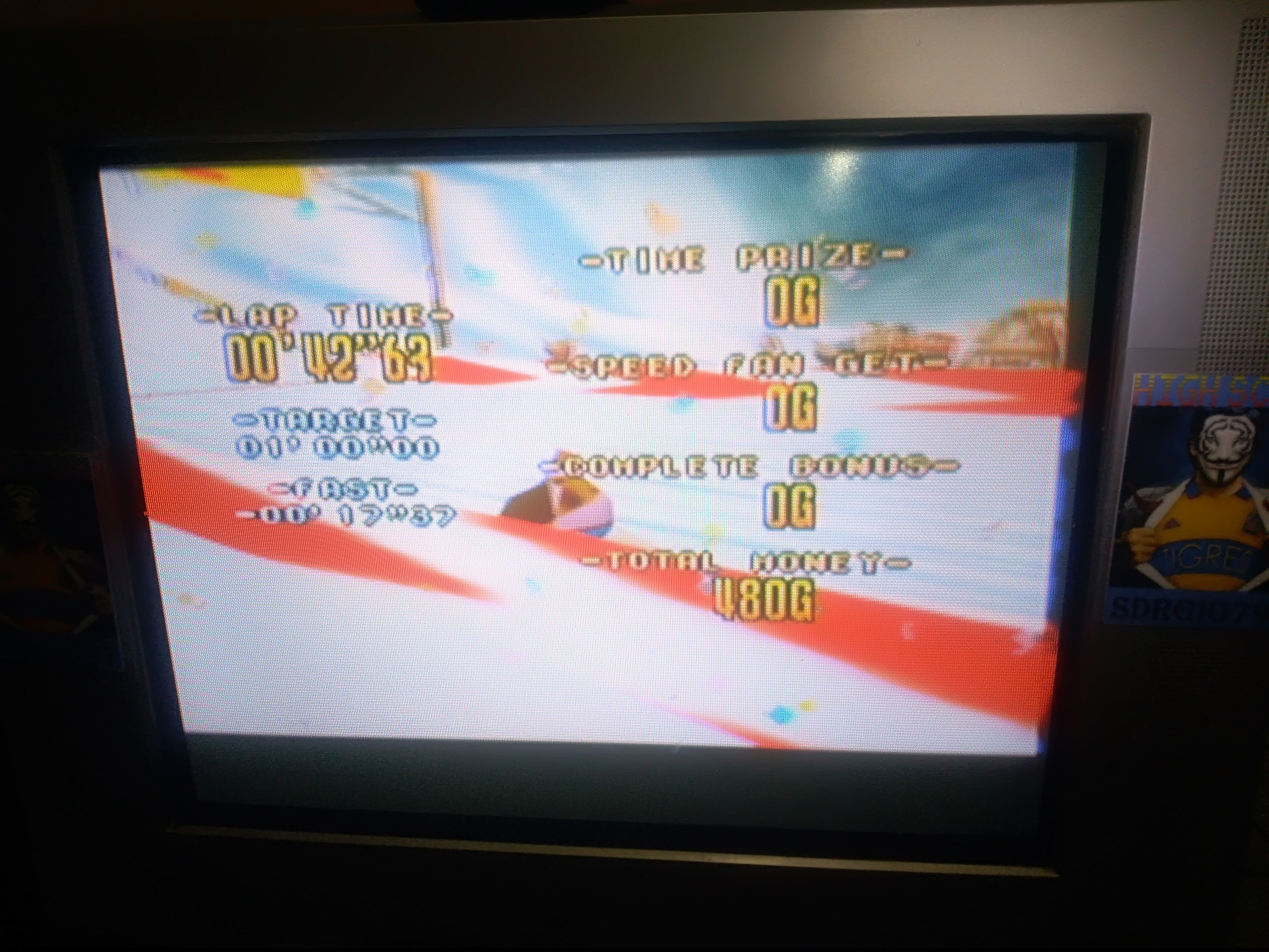 Sdrgio797: Snowboard Kids: Speed Game [Rookie MT./Fastest Lap] (N64 Emulated) 0:00:42.63 points on 2020-08-09 15:42:32