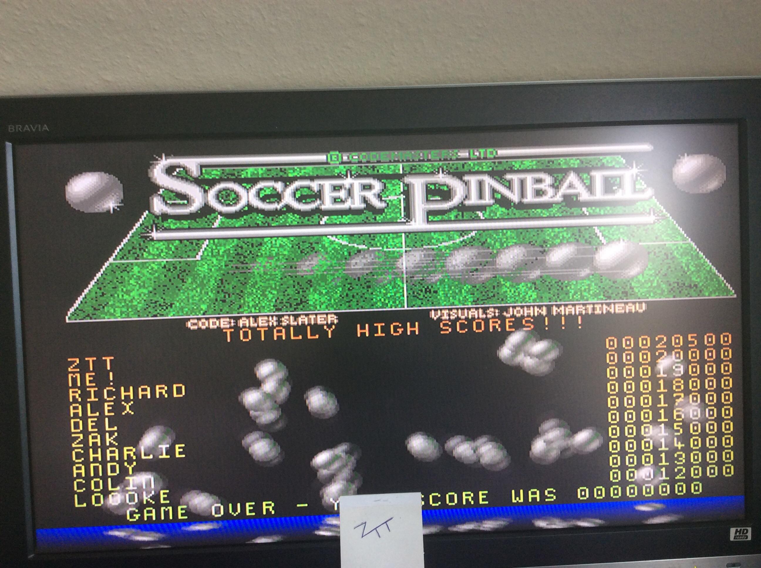 Frankie: Soccer Pinball (Amiga) 20,500 points on 2016-10-29 07:07:14