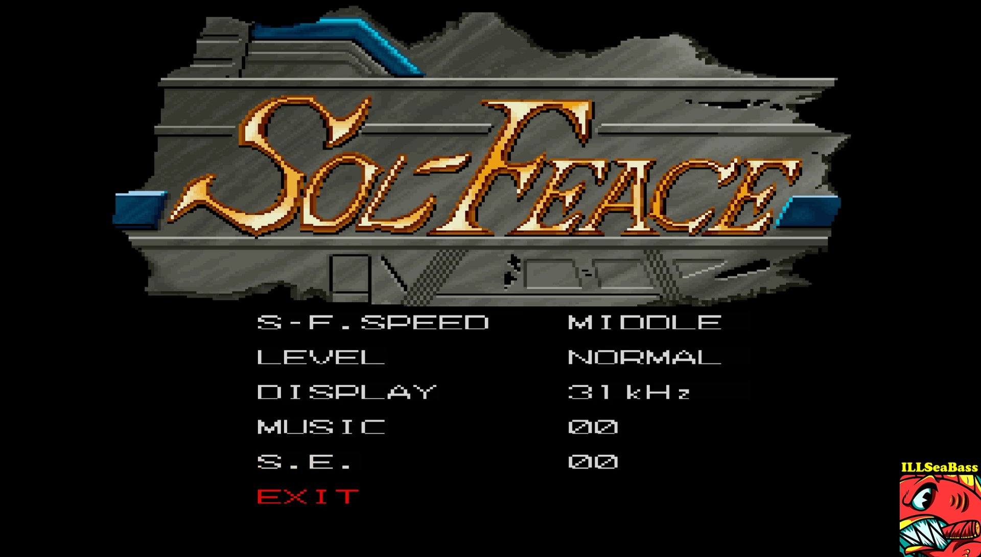 ILLSeaBass: Sol-Feace [Normal] (Sharp X68000 Emulated) 54,328 points on 2017-07-01 09:51:23