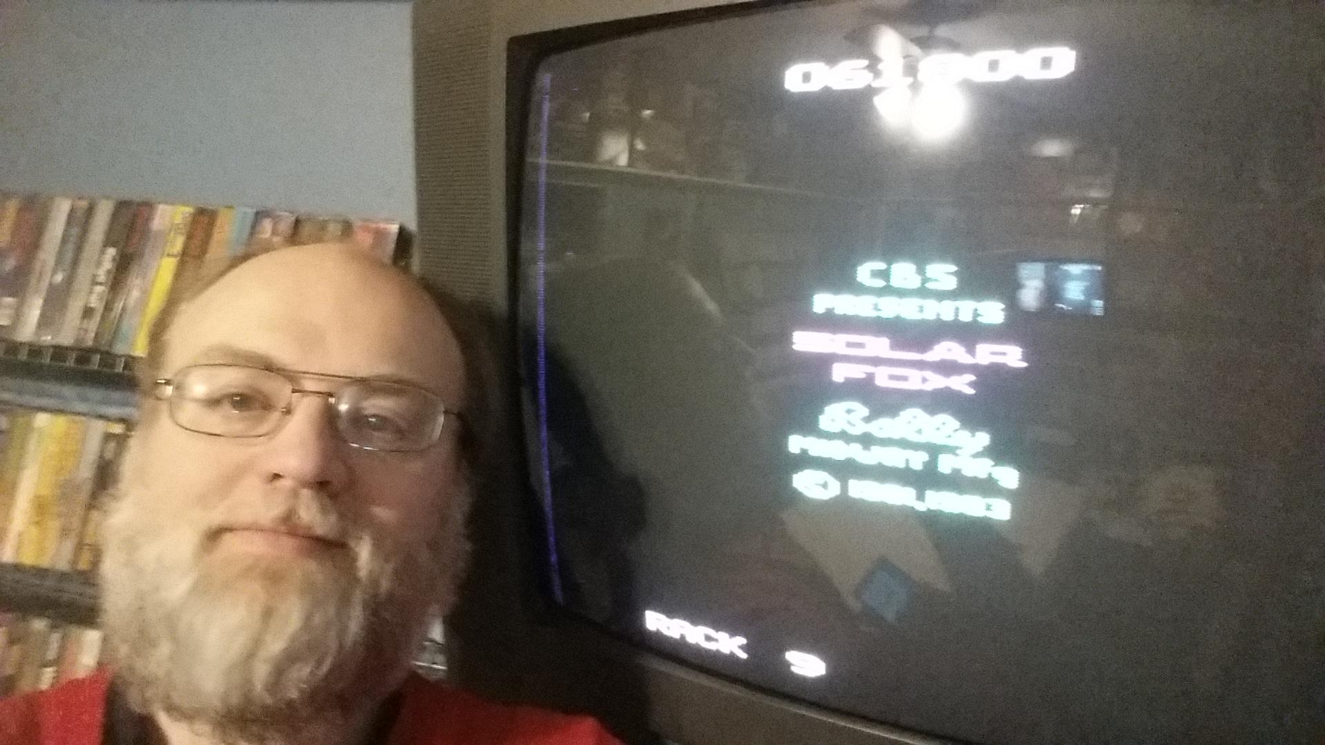 SeanStewart: Solar Fox (Atari 2600 Expert/A) 61,800 points on 2016-12-17 23:20:19