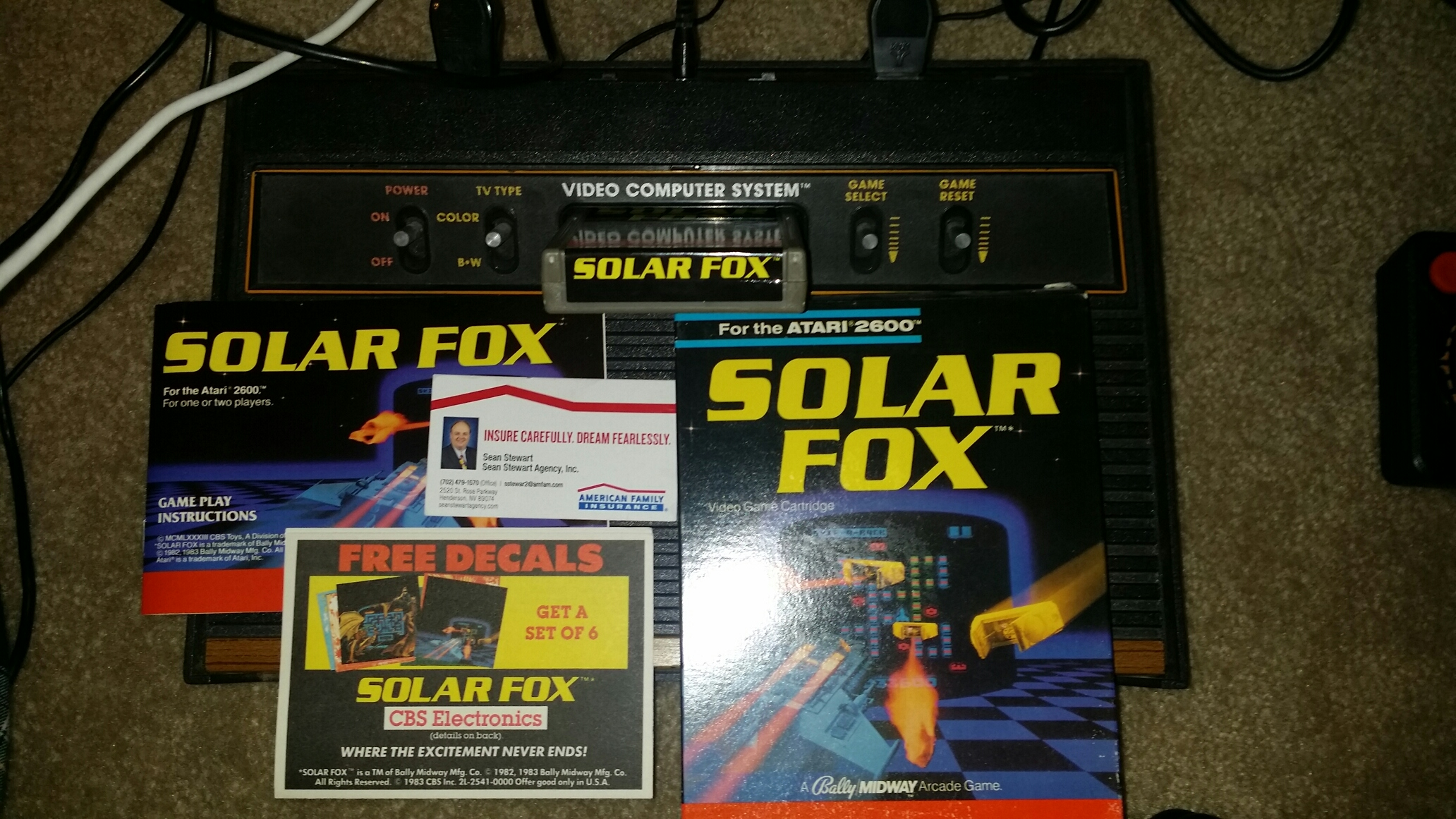 Solar Fox 132,400 points