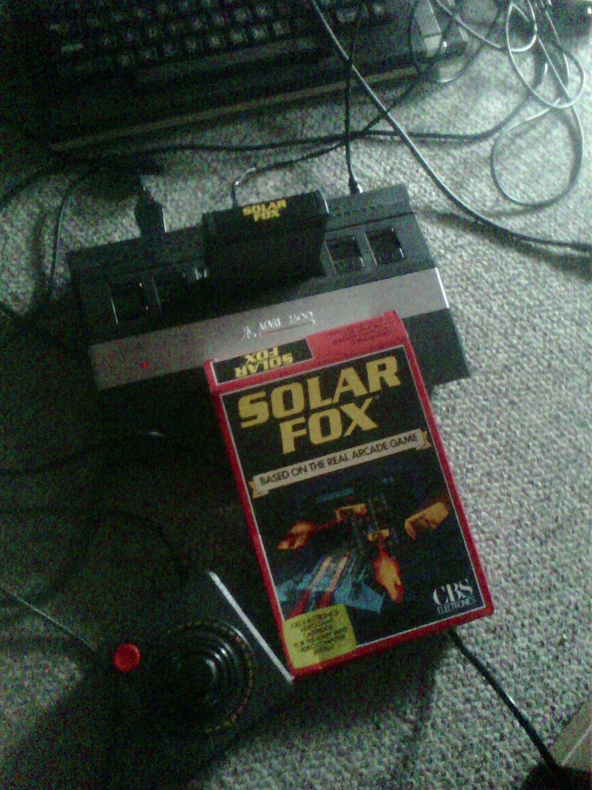 Solar Fox 100,200 points