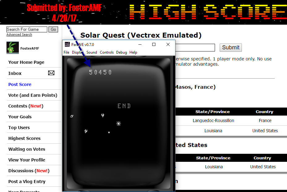 Solar Quest 50,450 points