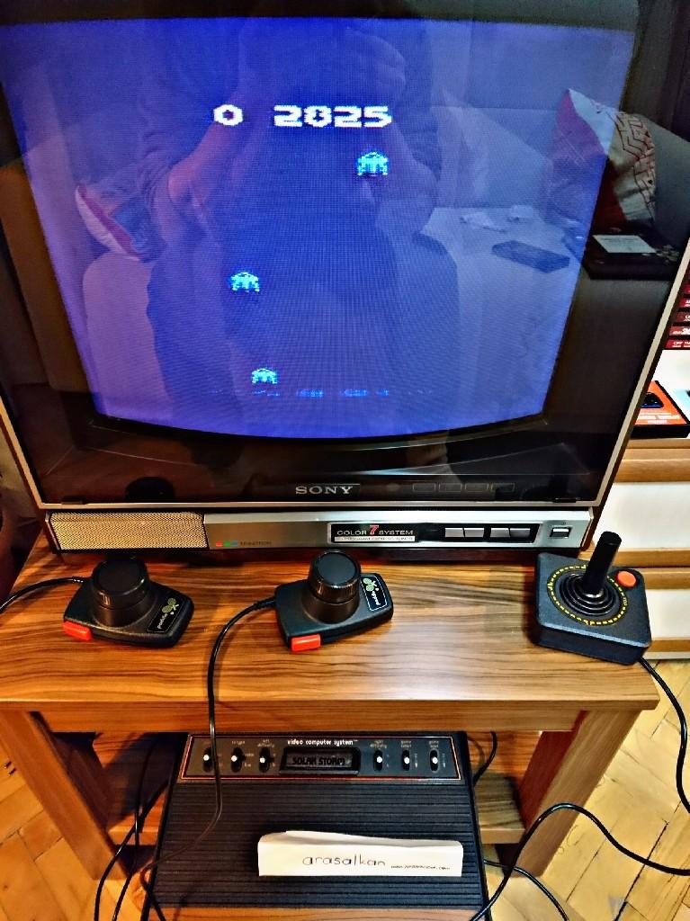 arasalkan: Solar Storm (Atari 2600 Expert/A) 2,825 points on 2017-11-22 13:30:03