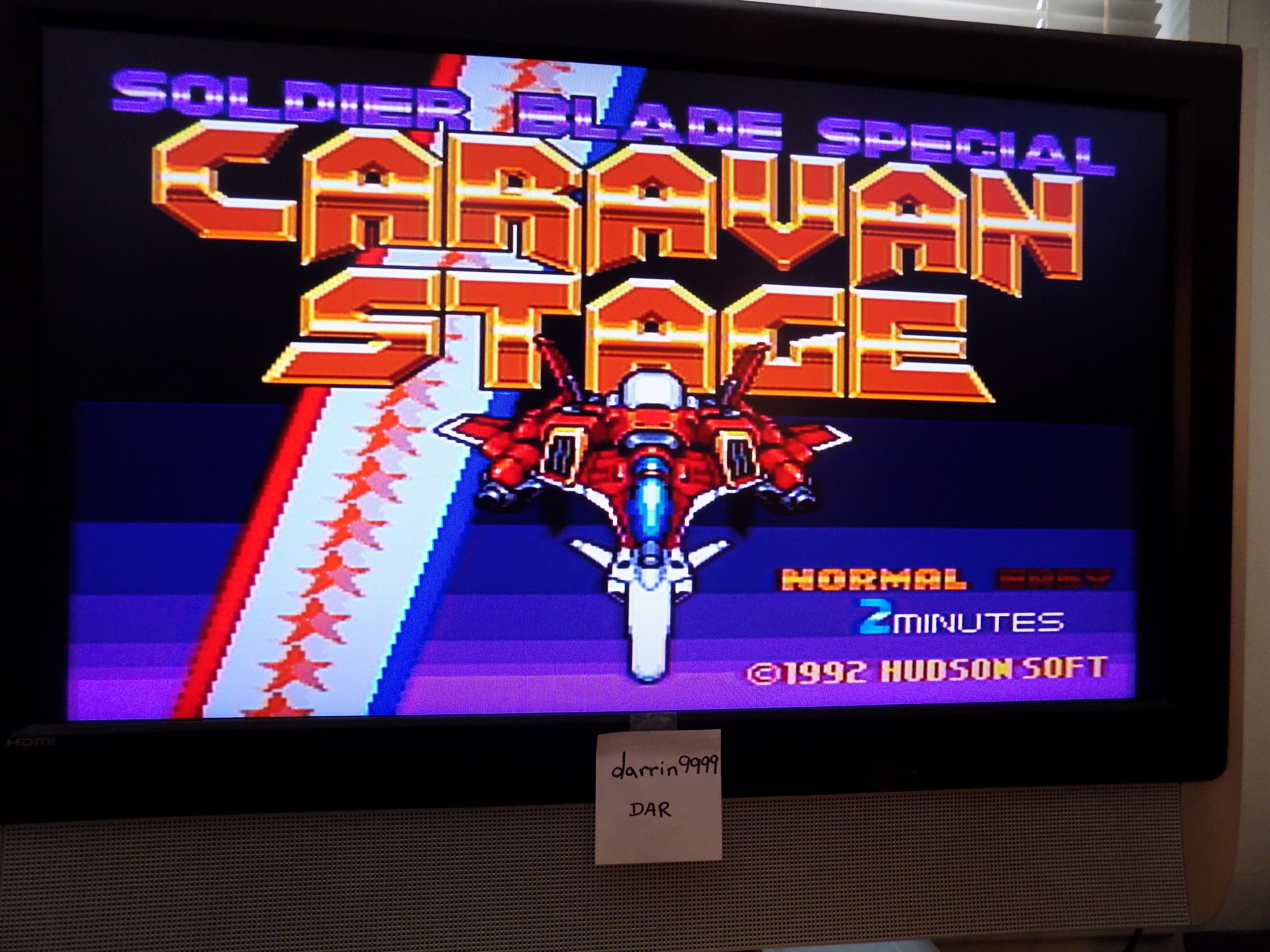 darrin9999: Soldier Blade Special: Caravan Stage [Easy: 2 Minutes] (TurboGrafx-16/PC Engine) 317,700 points on 2017-06-13 20:12:39
