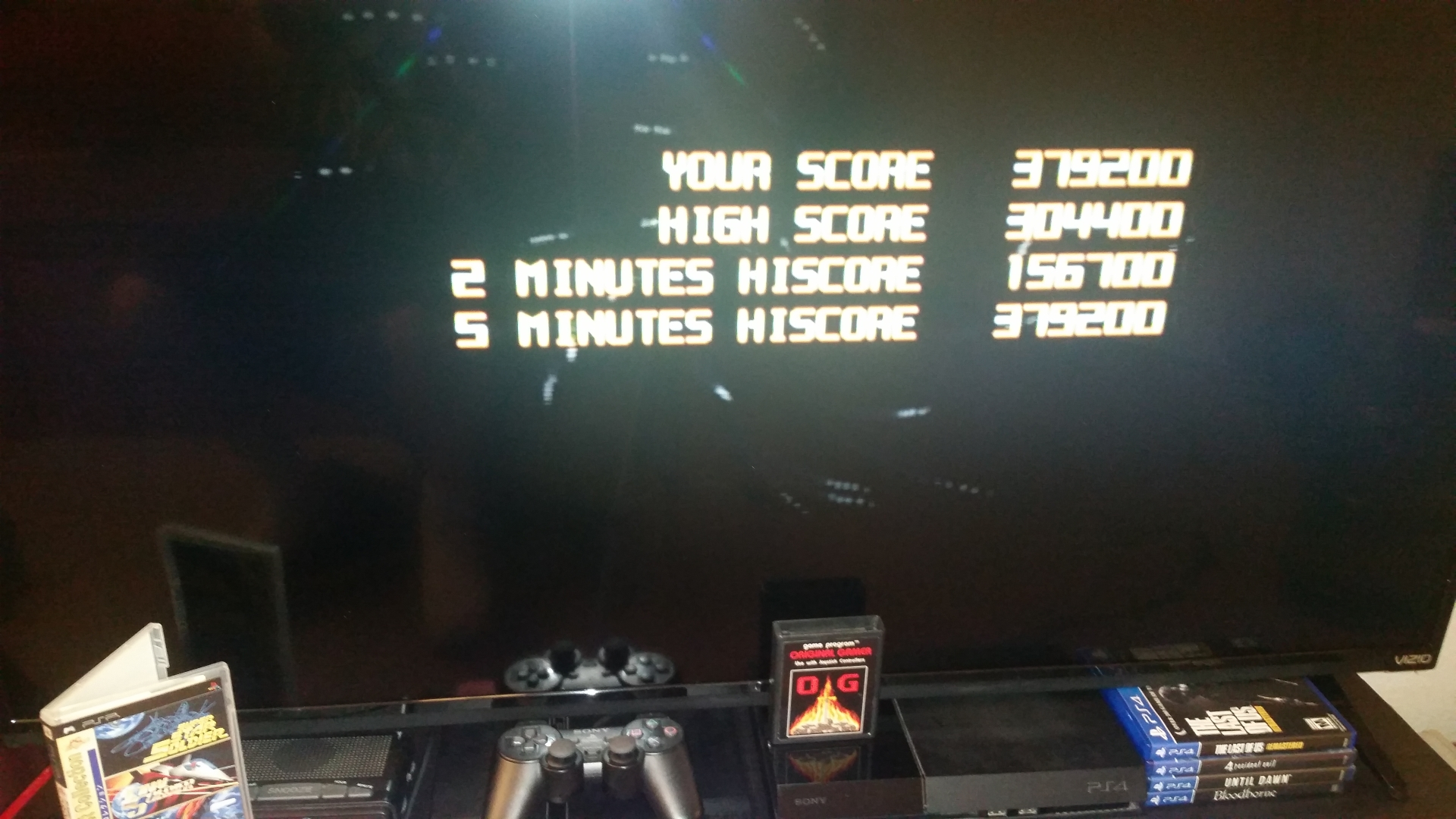 OriginalGamer: Soldier Collection: Super Star Soldier [2 Minute] (PSP) 156,700 points on 2018-01-30 22:56:16