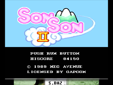 SonSon II 84,150 points