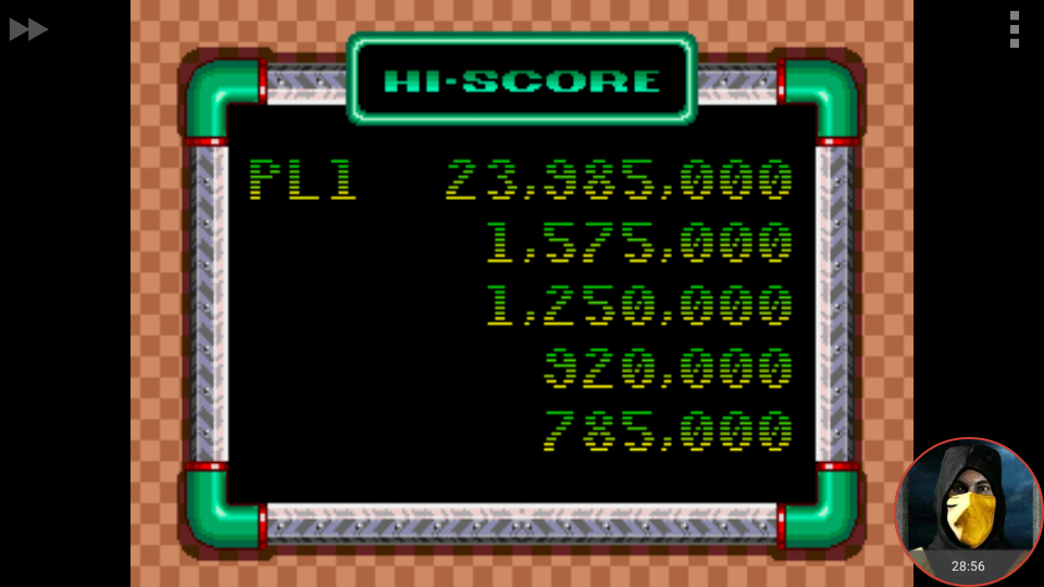 omargeddon: Sonic Spinball (Sega Genesis / MegaDrive Emulated) 23,985,000 points on 2018-03-23 01:40:41