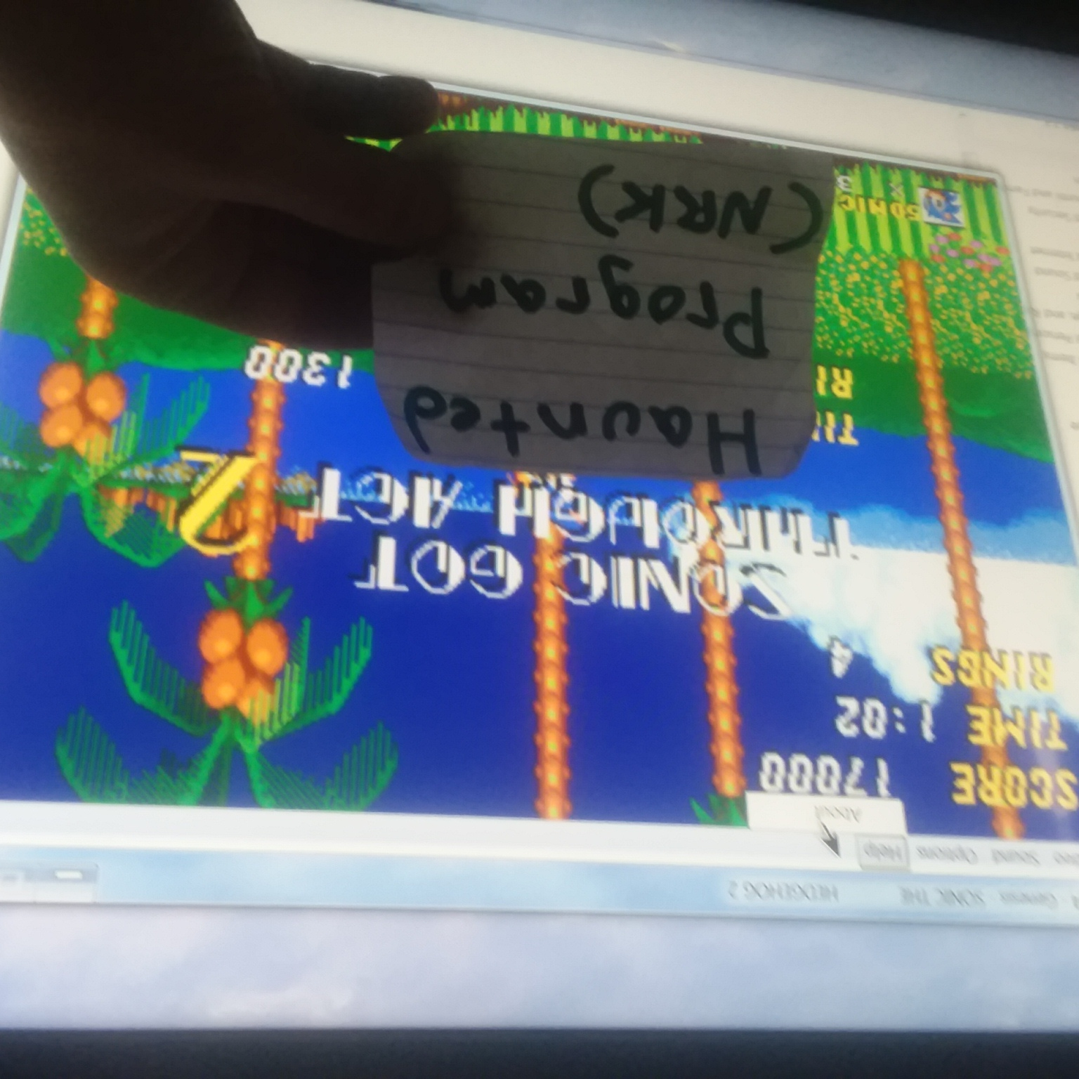 Sonic The Hedgehog 2: Emerald Hill Zone Act 2 [Fastest Time] time of 0:01:02