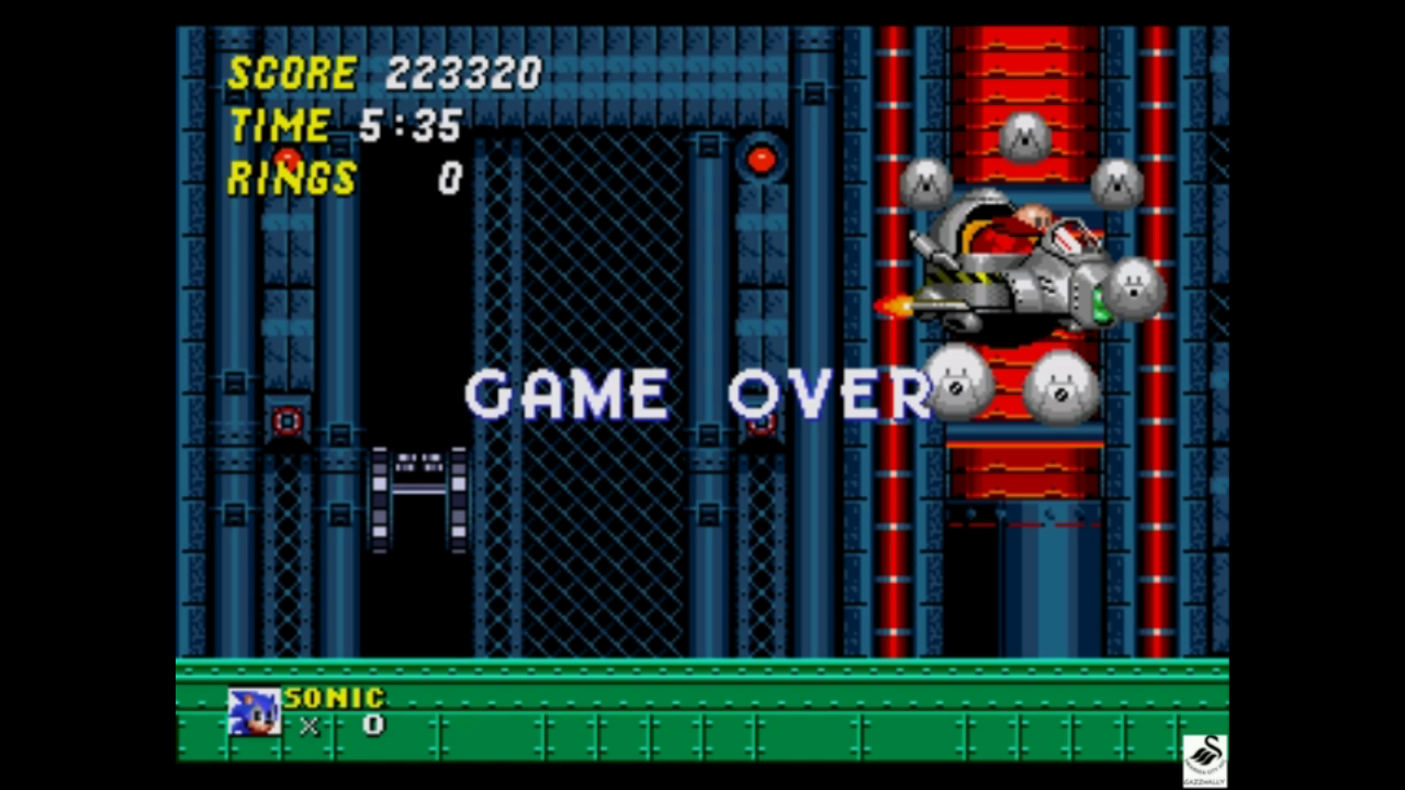 Sonic The Hedgehog 2 223,320 points