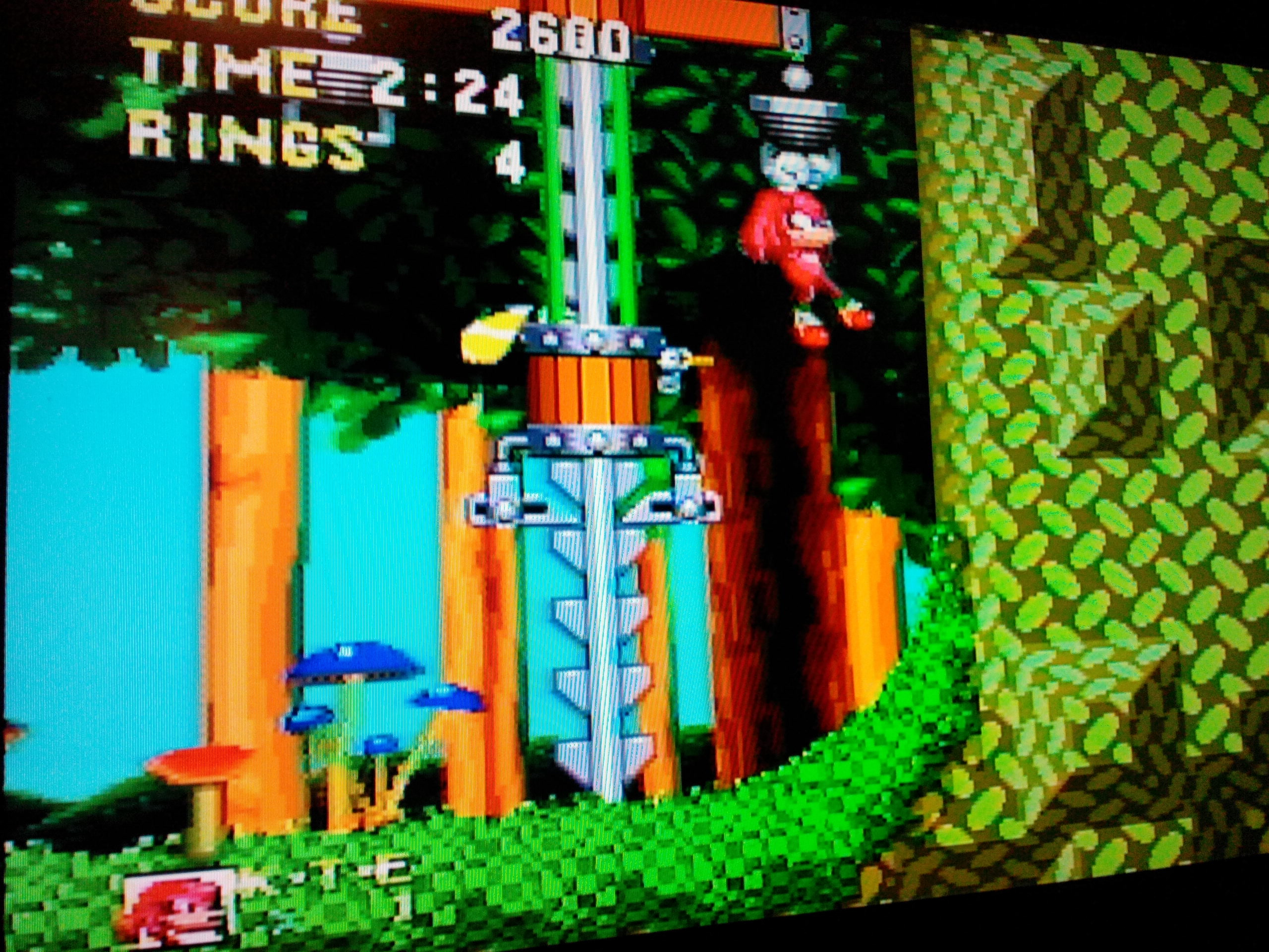 Sonic and Knuckles 2,600 points