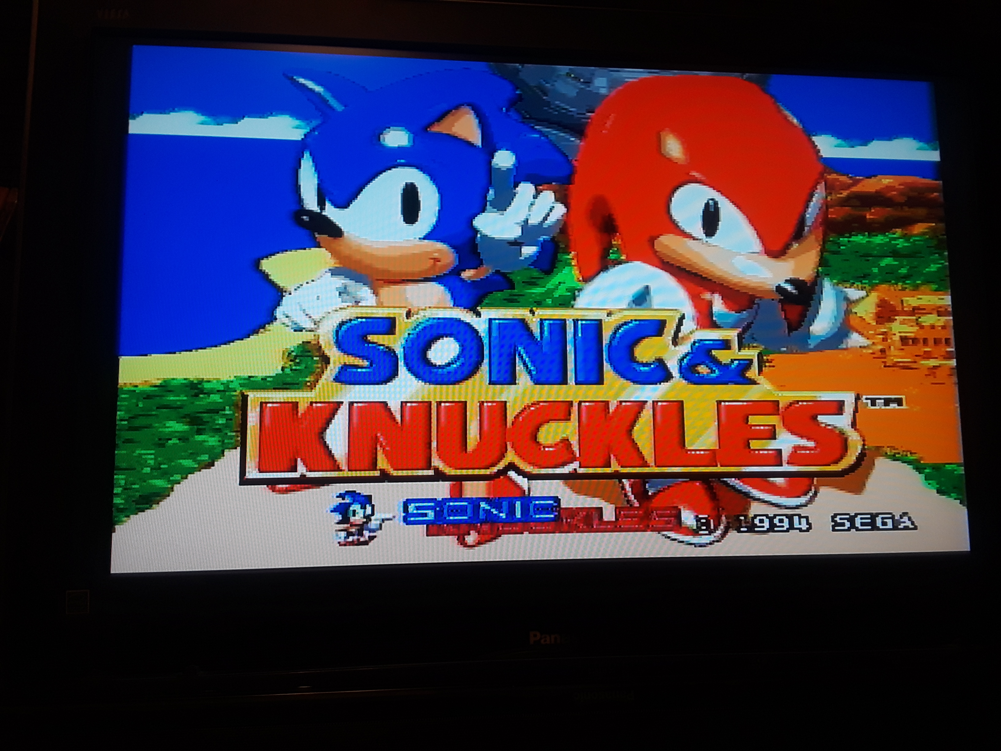 Sonic and Knuckles 6,300 points