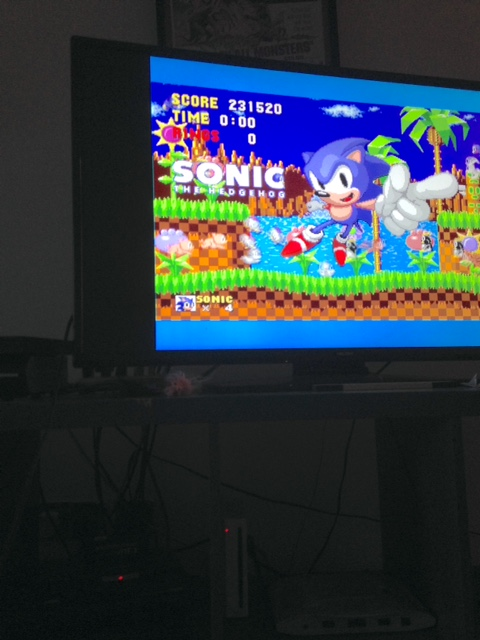 mechafatnick: Sonic the Hedgehog (Sega Genesis / MegaDrive) 231,520 points on 2015-08-18 00:47:35