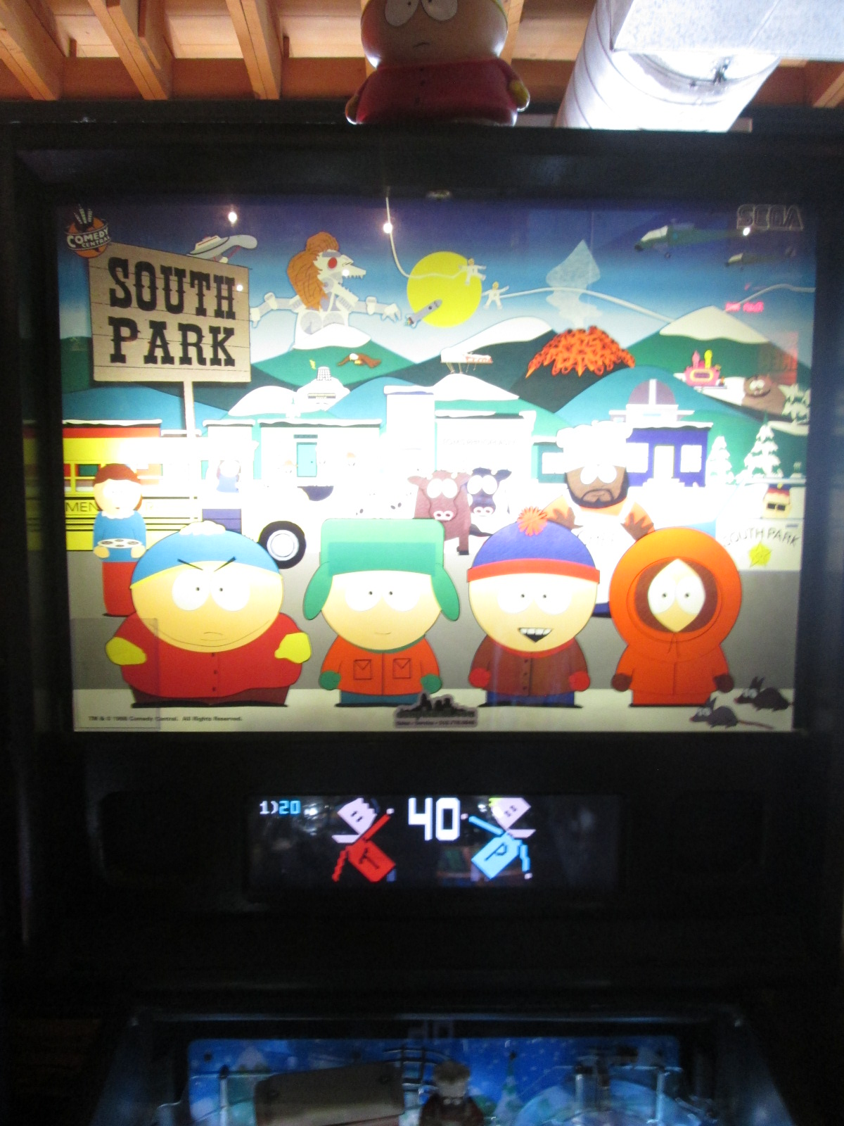 South Park 23,893,120 points