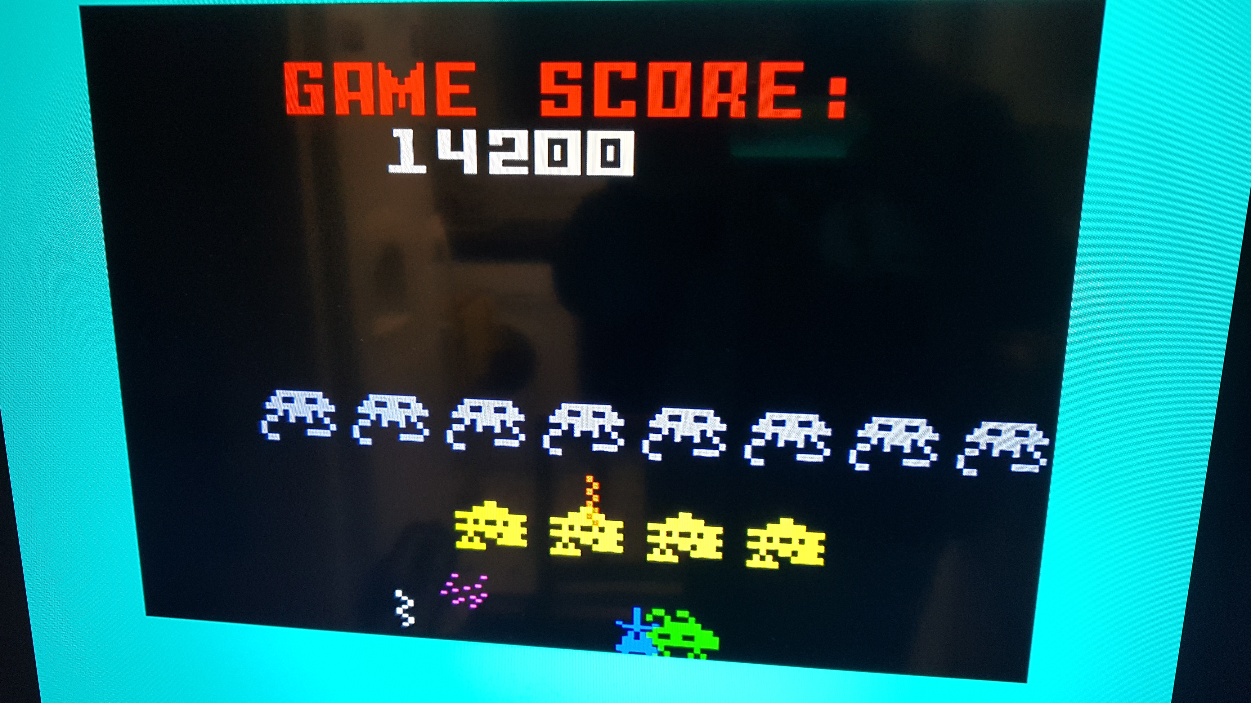 Bamse: Space Armada (Intellivision) 14,200 points on 2018-12-03 09:56:41