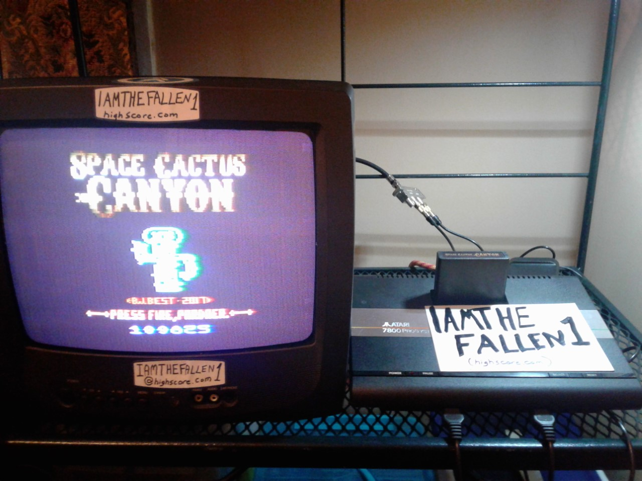 iamthefallen1: Space Cactus Canyon (Atari 2600 Novice/B) 109,825 points on 2018-10-20 23:41:57