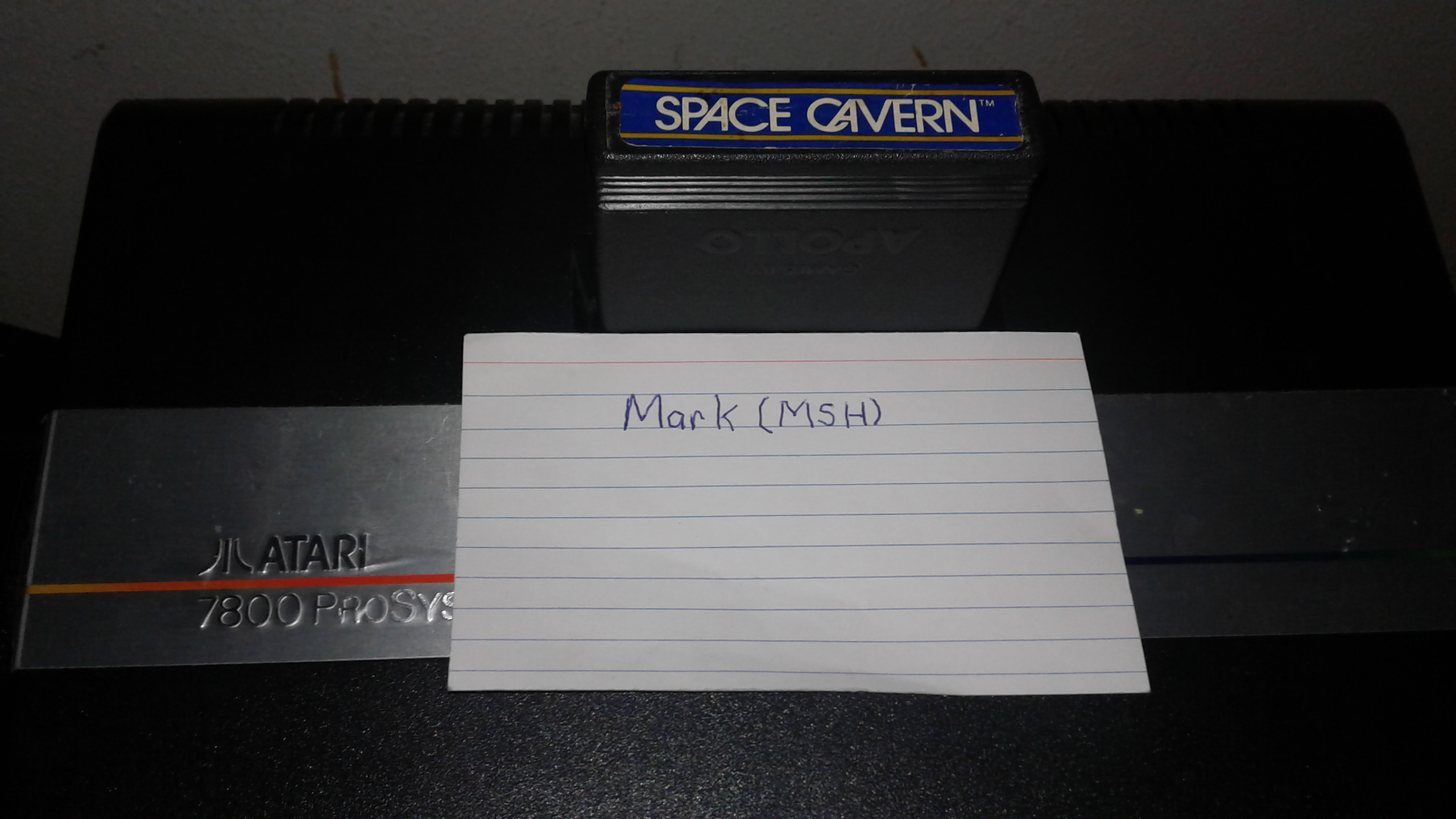 Mark: Space Cavern (Atari 2600 Novice/B) 47,150 points on 2019-03-16 00:42:53