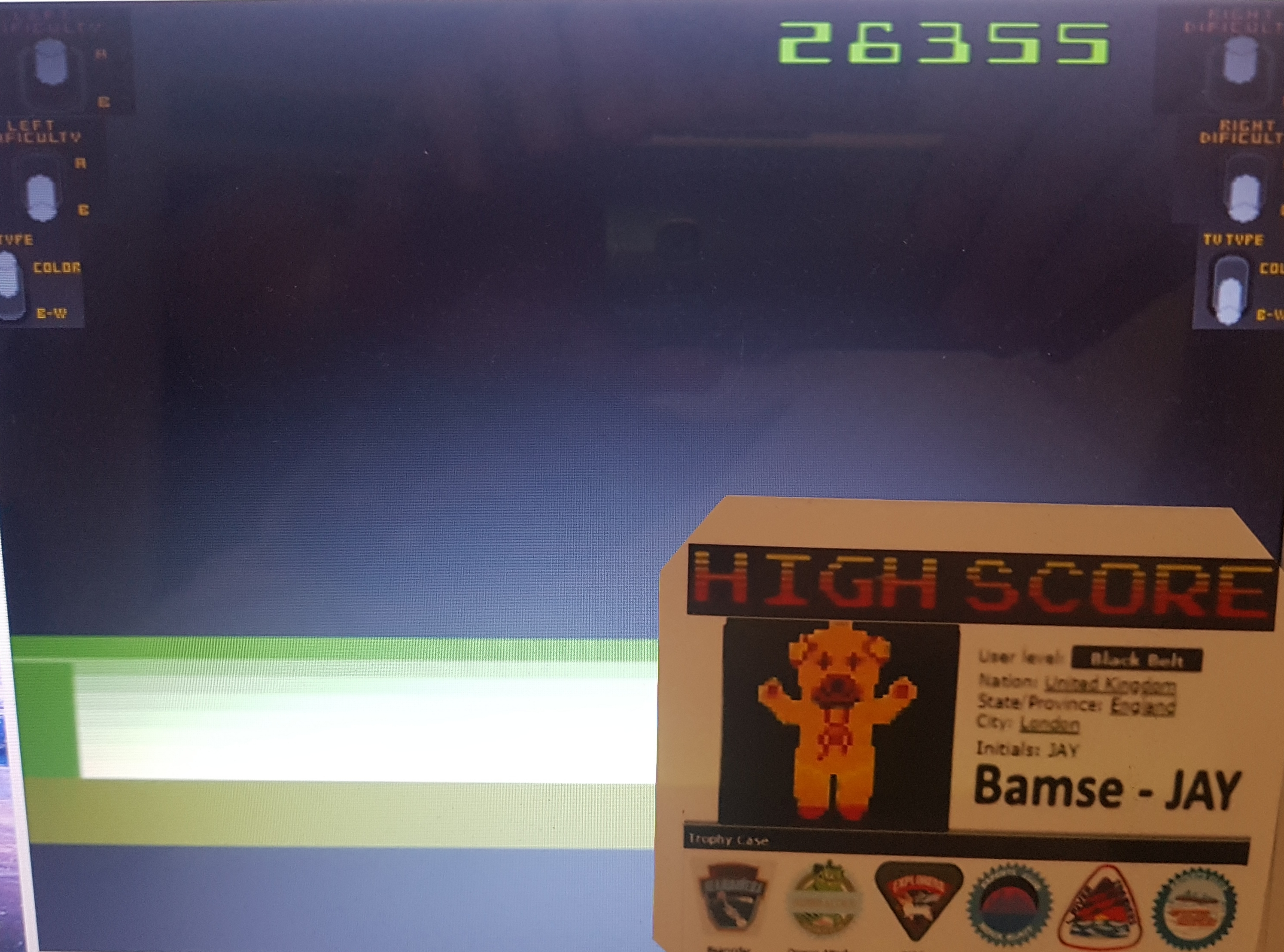 Bamse: Space Cavern (Atari 2600 Emulated Novice/B Mode) 26,355 points on 2019-10-30 13:45:07