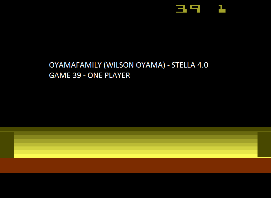 oyamafamily: Space Cavern: Game 39 (Atari 2600 Emulated Expert/A Mode) 6,455 points on 2015-08-08 10:40:06