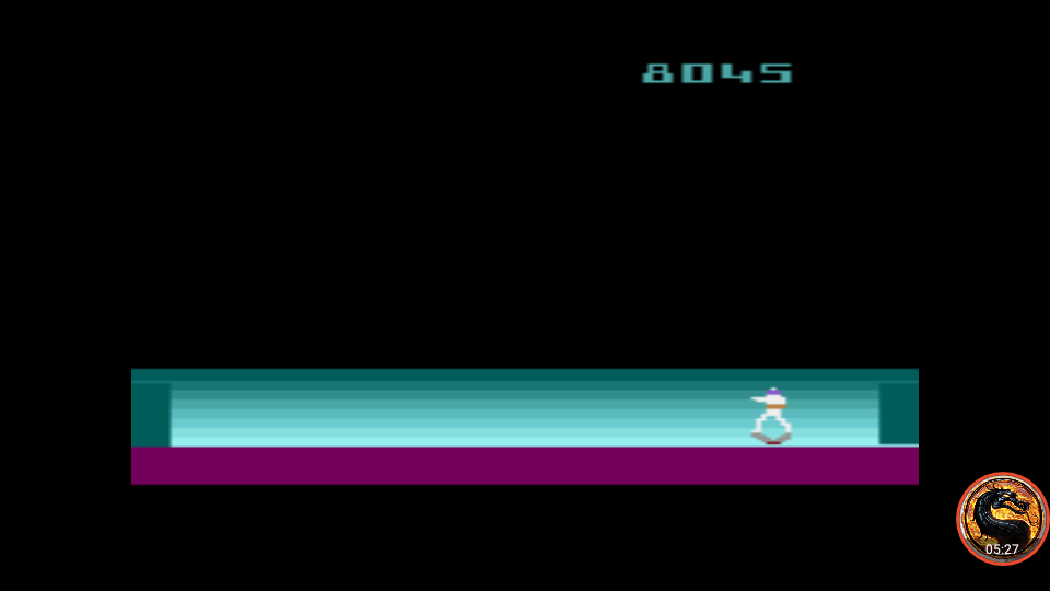 omargeddon: Space Cavern: Game 39 (Atari 2600 Emulated Expert/A Mode) 8,045 points on 2019-06-23 13:41:34