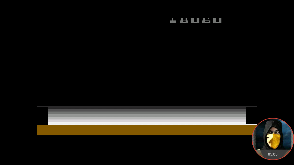 omargeddon: Space Cavern: Game 39 (Atari 2600 Emulated Novice/B Mode) 18,060 points on 2018-02-23 23:22:57