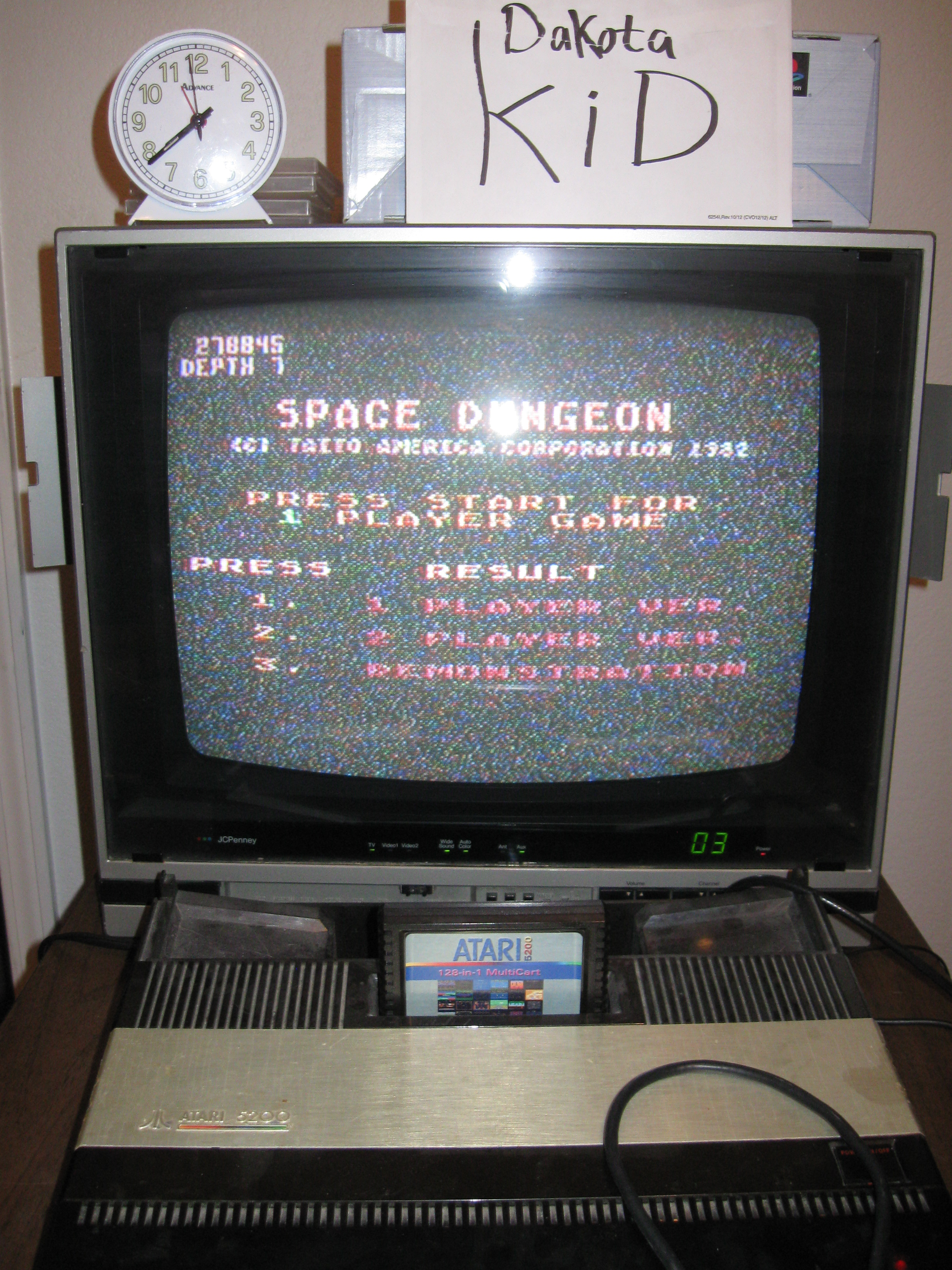 DakotaKid: Space Dungeon (Atari 5200) 278,845 points on 2016-04-18 13:32:26