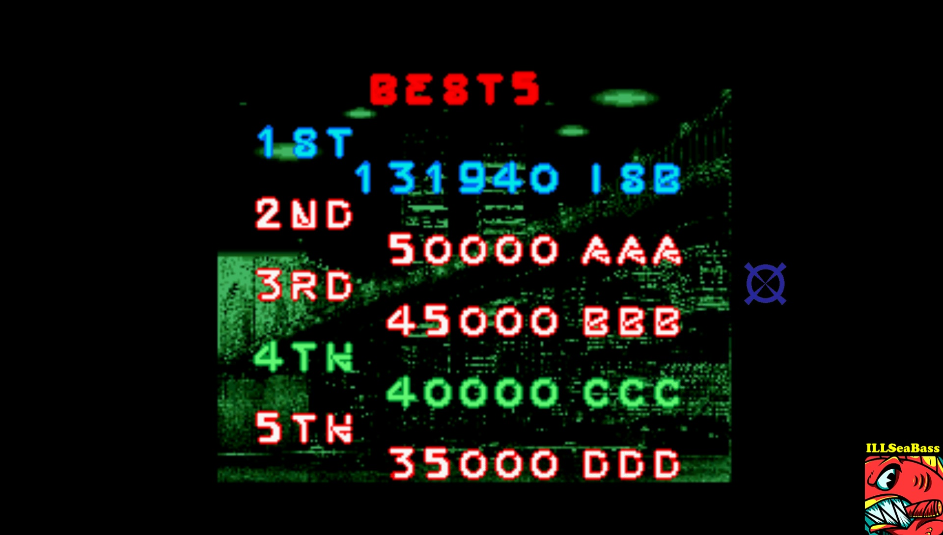 ILLSeaBass: Space Gun (Arcade Emulated / M.A.M.E.) 131,940 points on 2017-03-25 21:41:30