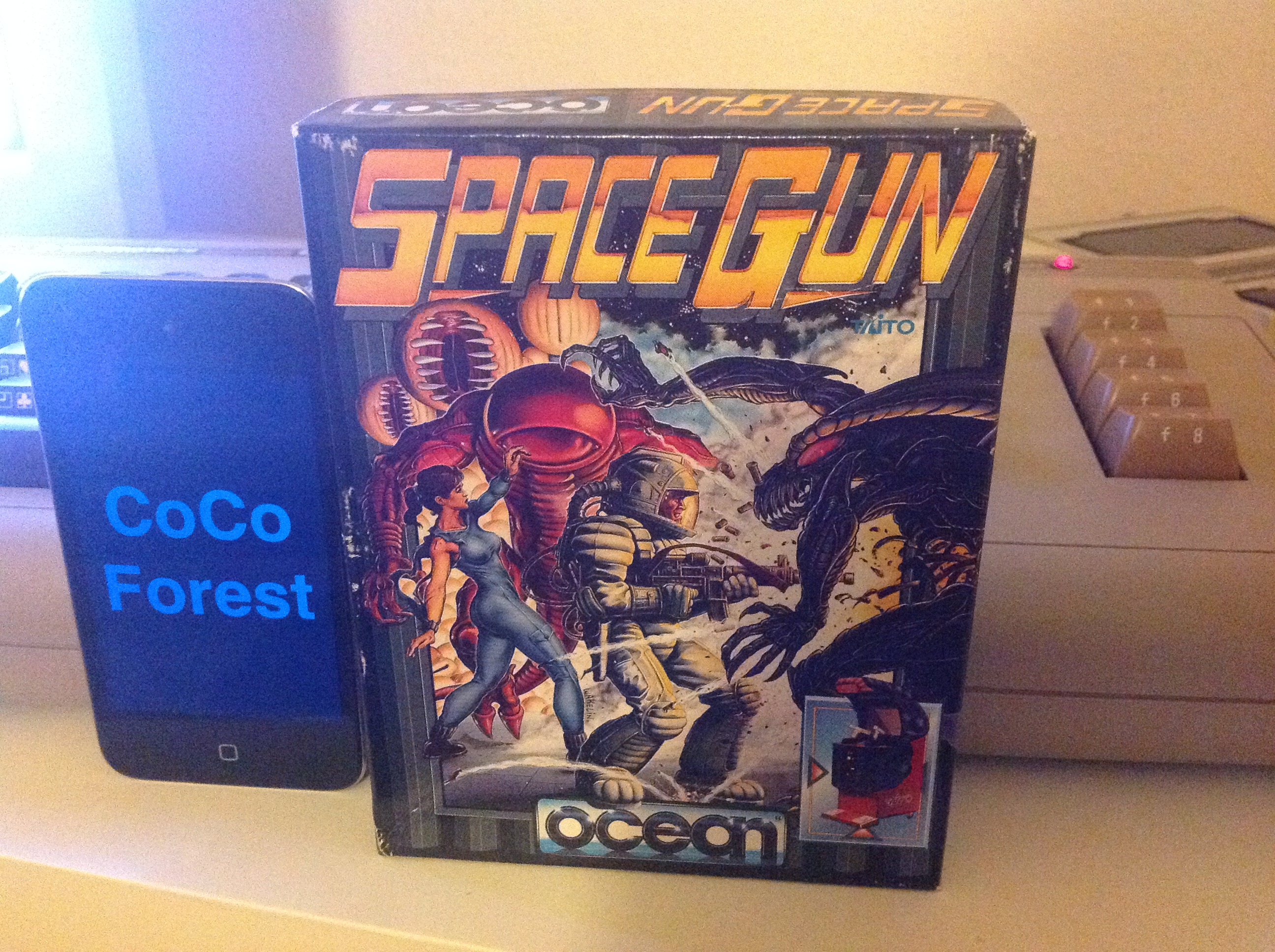 CoCoForest: Space Gun (Commodore 64) 27,910 points on 2015-12-07 13:54:05