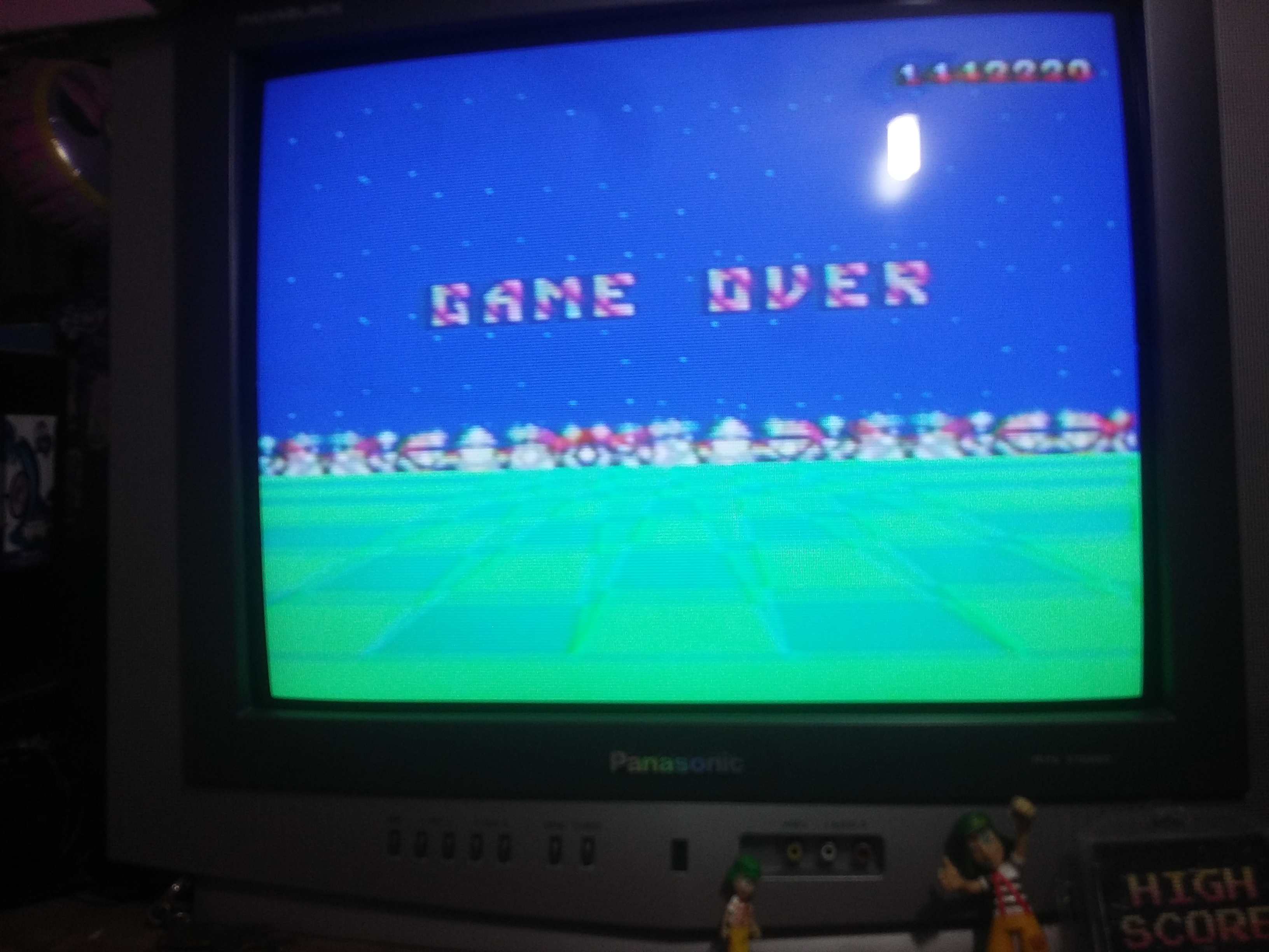 omargeddon: Space Harrier 3-D (Sega Master System) 1,442,220 points on 2018-08-18 19:11:25