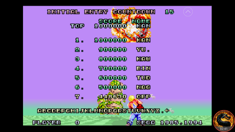 omargeddon: Space Harrier [32X version] (Sega Genesis / MegaDrive Emulated) 448,630 points on 2018-08-25 16:58:13