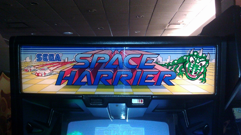 Space Harrier 1,809,050 points