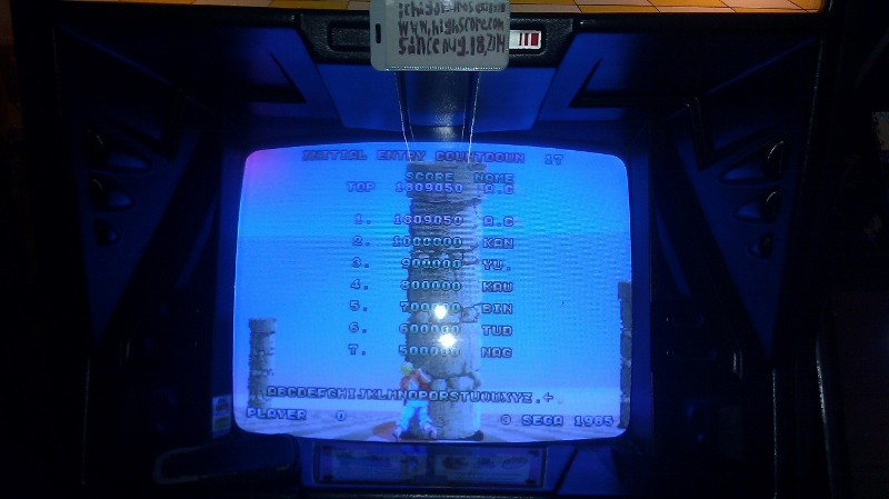 ichigokurosaki1991: Space Harrier (Arcade) 1,809,050 points on 2016-04-05 01:03:11