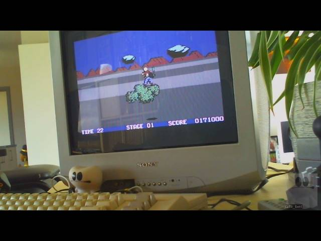 GTibel: Space Harrier (Commodore 64) 117,700 points on 2019-03-08 07:24:16