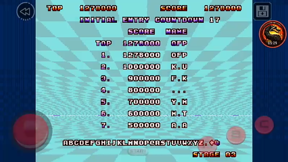 omargeddon: Space Harrier II Classic (Android) 1,278,000 points on 2020-02-14 12:51:41