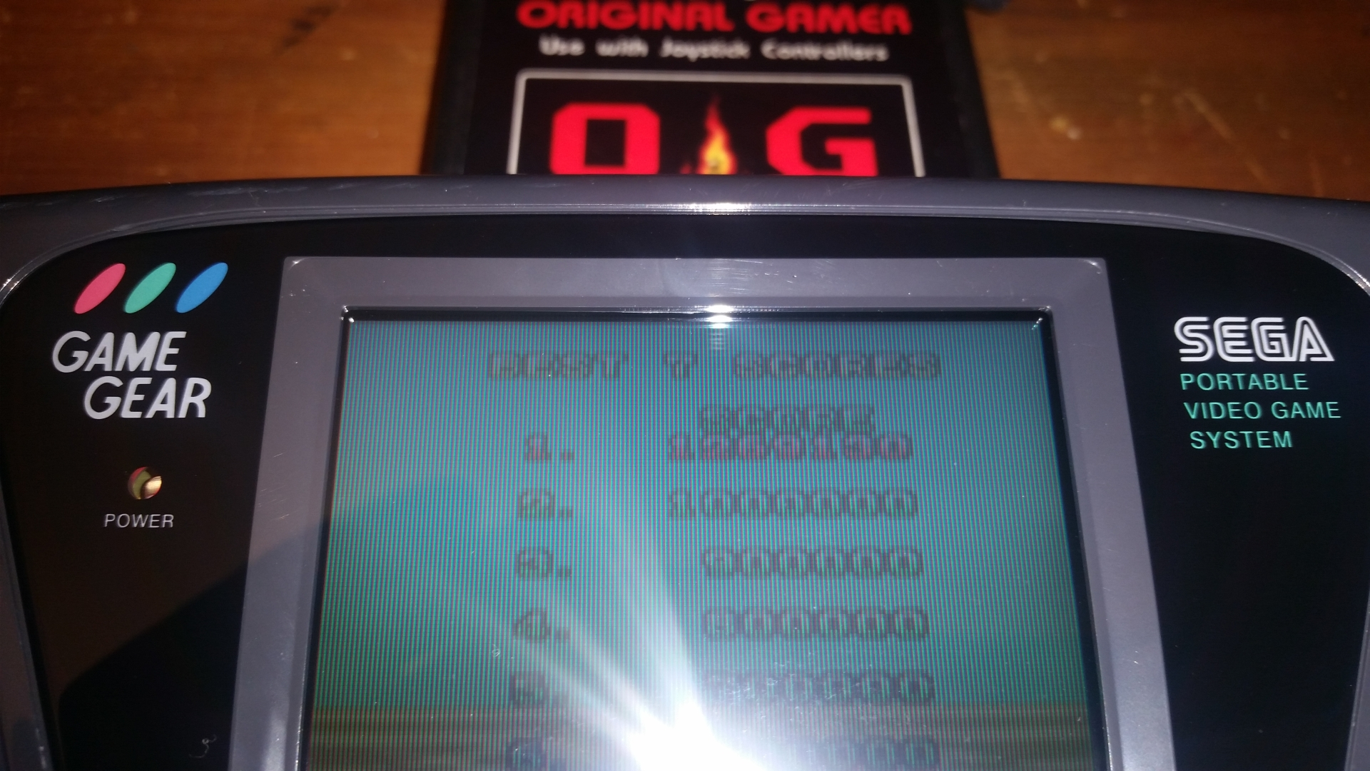OriginalGamer: Space Harrier (Sega Game Gear) 1,269,130 points on 2018-02-19 19:29:05