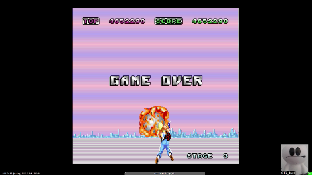 GTibel: Space Harrier (Sharp X68000 Emulated) 4,652,290 points on 2019-12-16 04:50:32