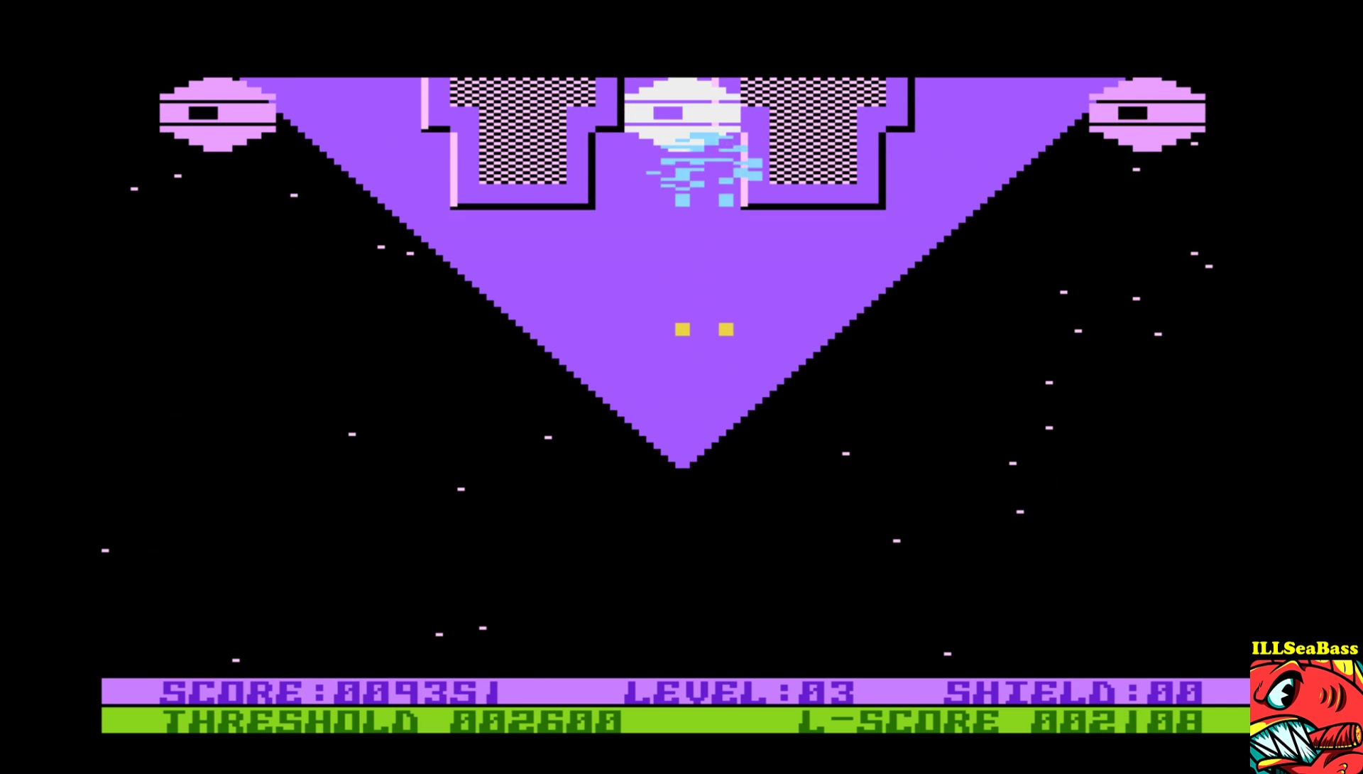 ILLSeaBass: Space Hawk (Atari 400/800/XL/XE Emulated) 9,351 points on 2017-06-10 22:01:46