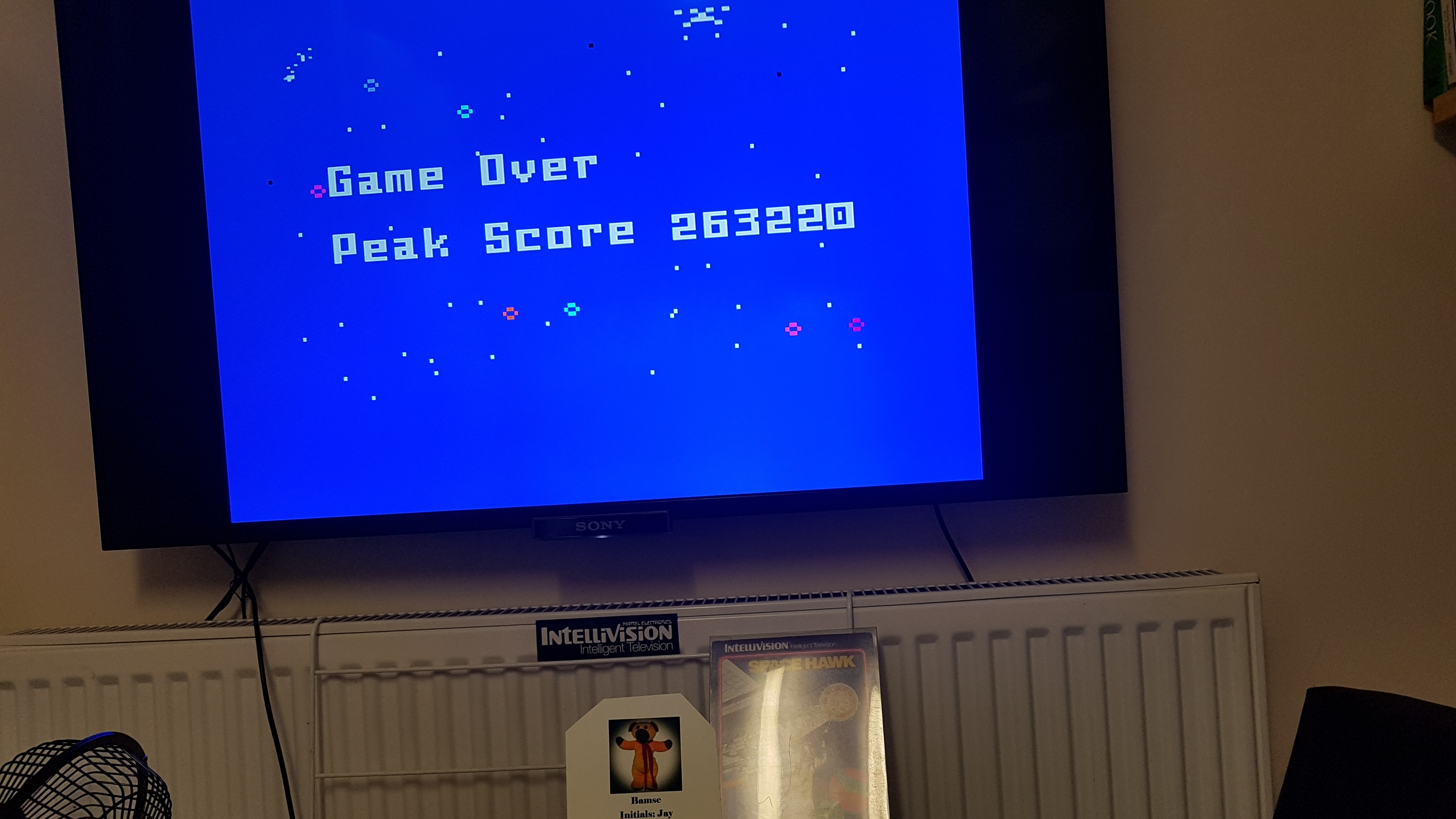 Space Hawk 263,220 points