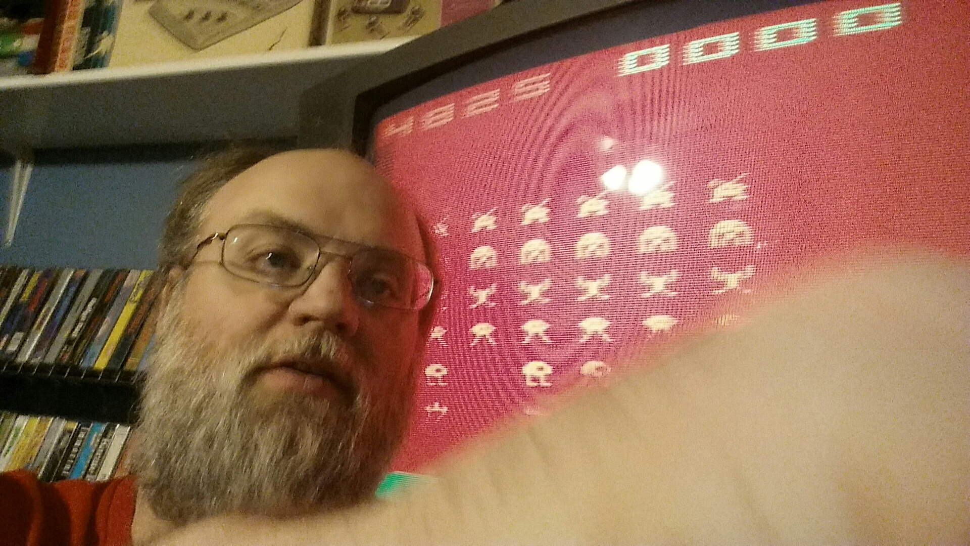 SeanStewart: Space Invaders (Atari 2600 Expert/A) 4,825 points on 2016-12-11 18:43:47