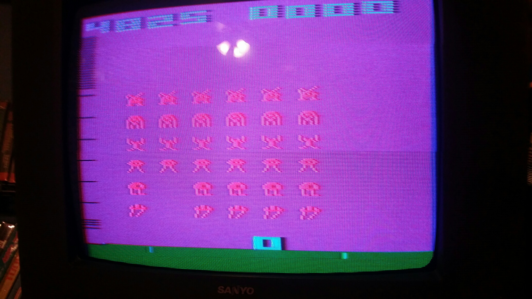 Space Invaders 4,825 points